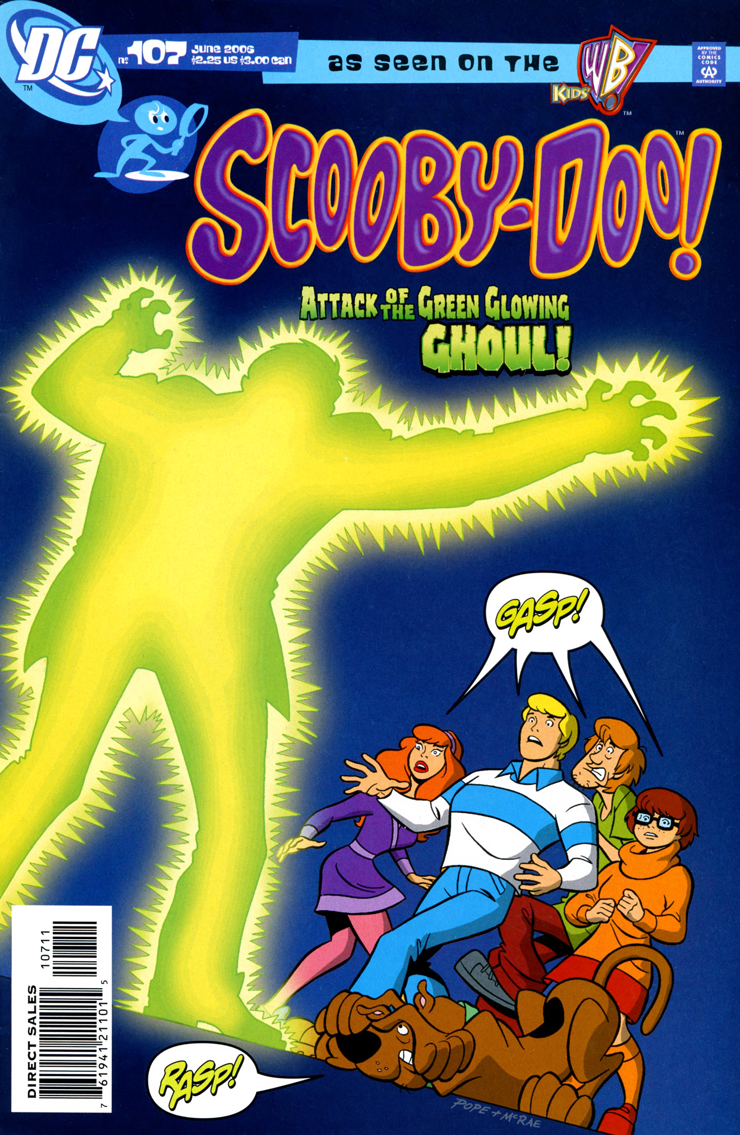Read online Scooby-Doo (1997) comic -  Issue #107 - 1