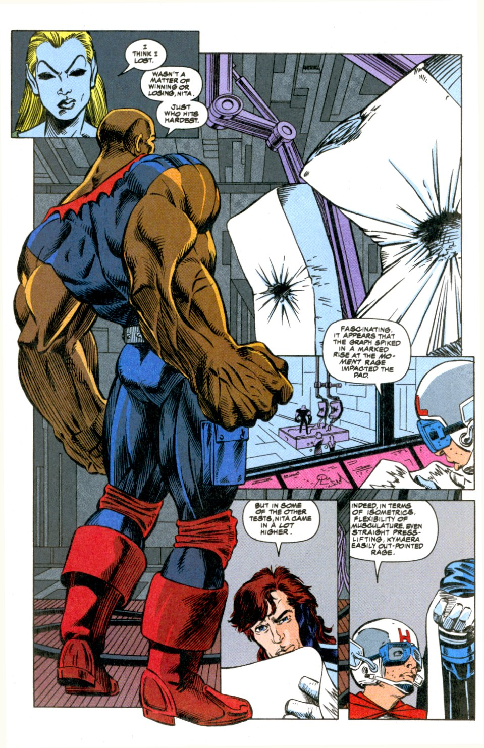 The New Warriors Issue #52 #56 - English 8