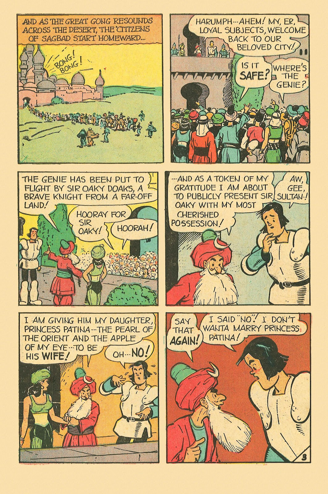Read online Famous Funnies comic -  Issue #181 - 46