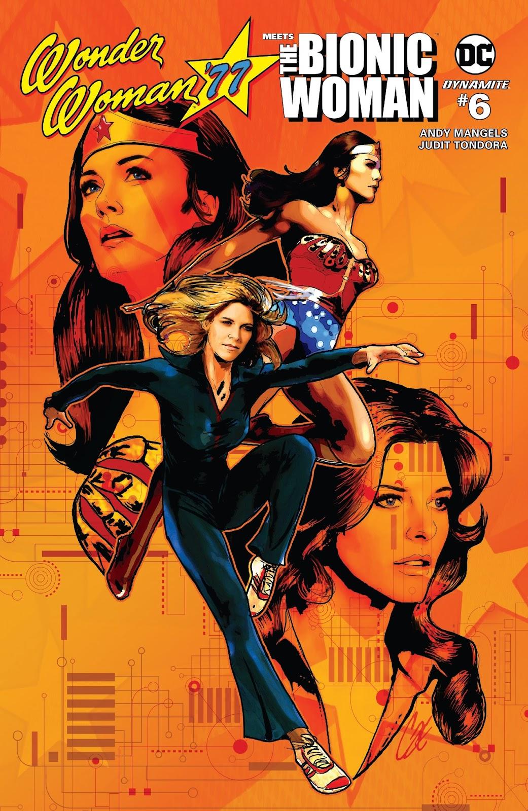 Wonder Woman 77 Meets The Bionic Woman 6 Page 1