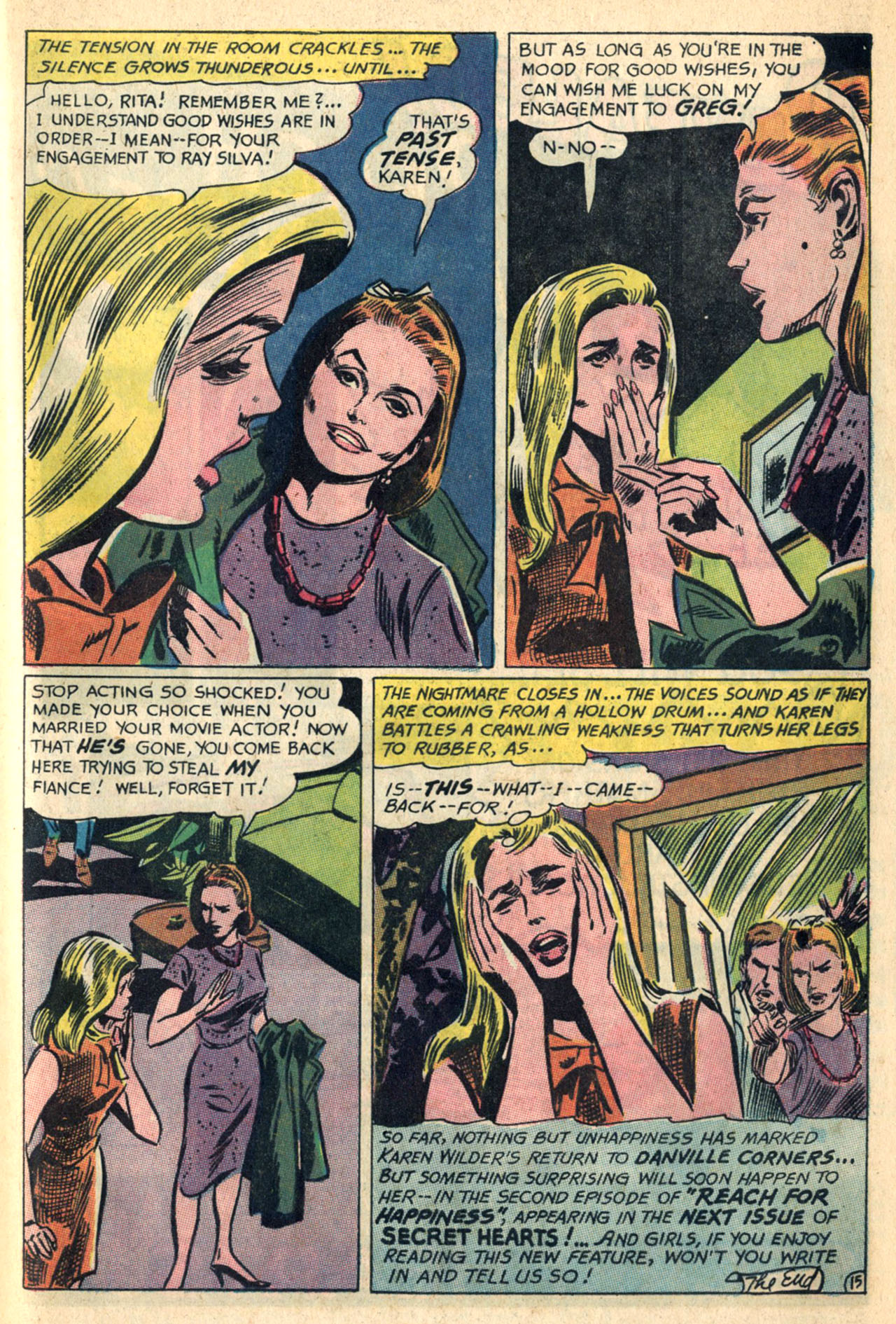 Read online Secret Hearts comic -  Issue #110 - 33
