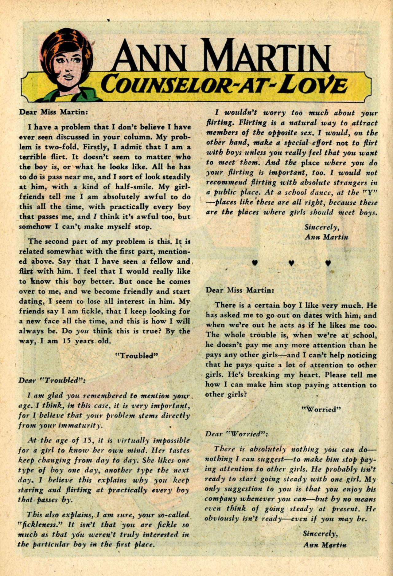Read online Secret Hearts comic -  Issue #120 - 18