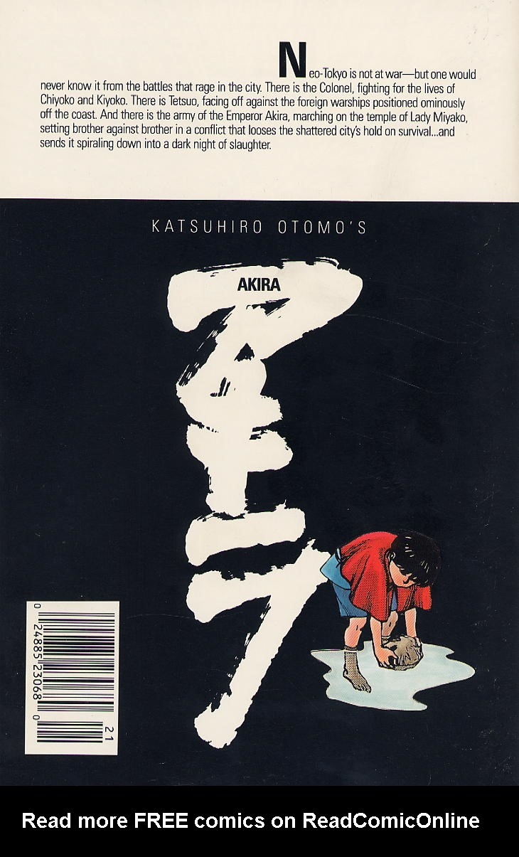 Read online Akira comic -  Issue #21 - 67