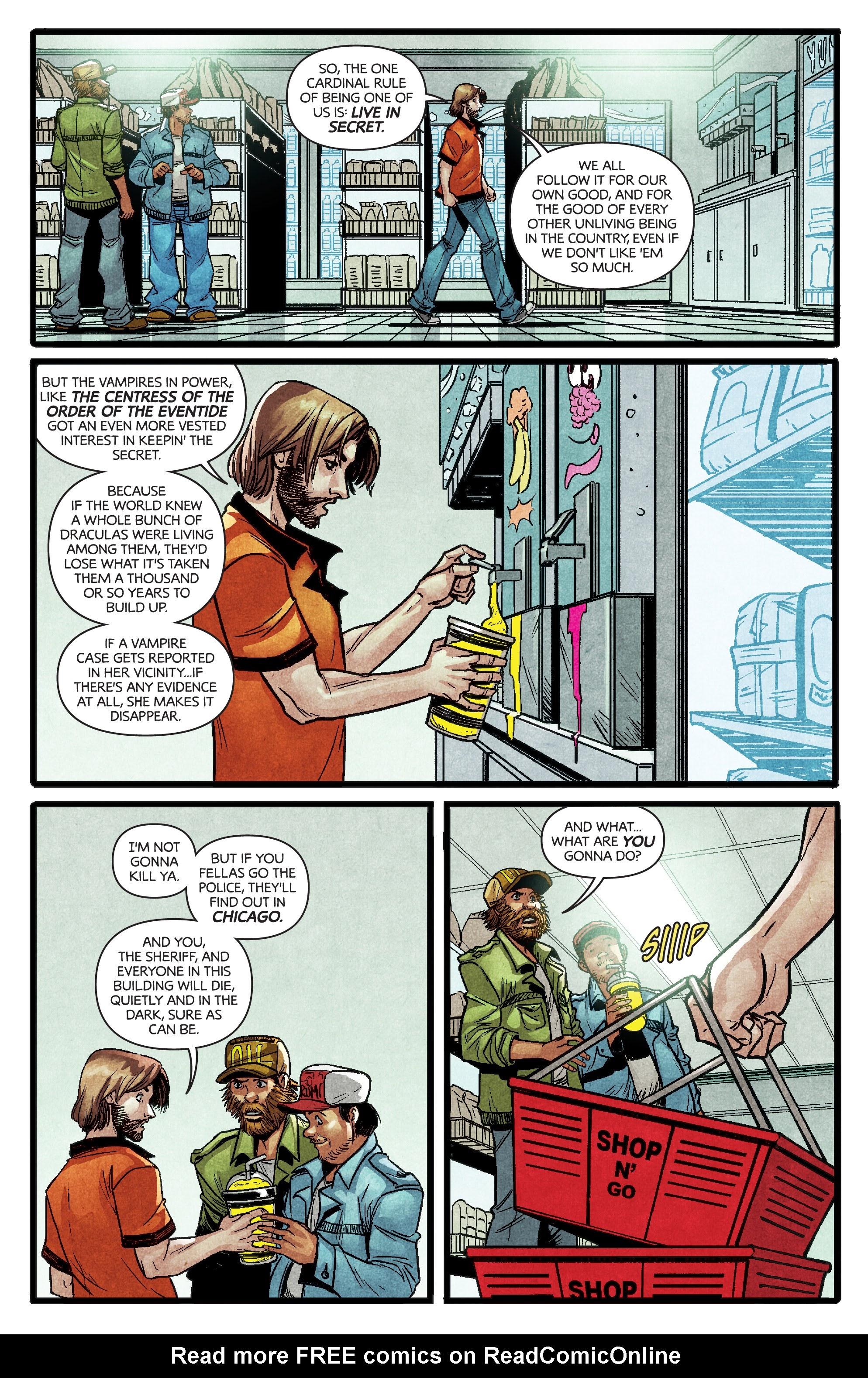Read online Dark Red comic -  Issue #4 - 9
