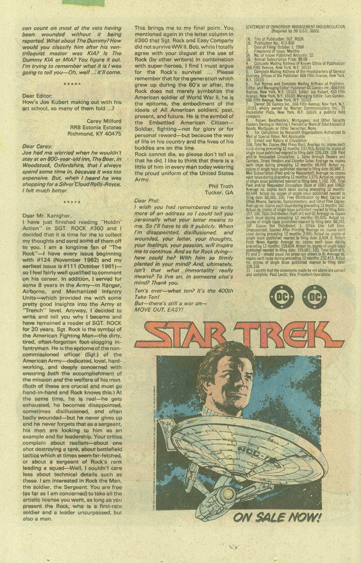 Read online Sgt. Rock comic -  Issue #400 - 23