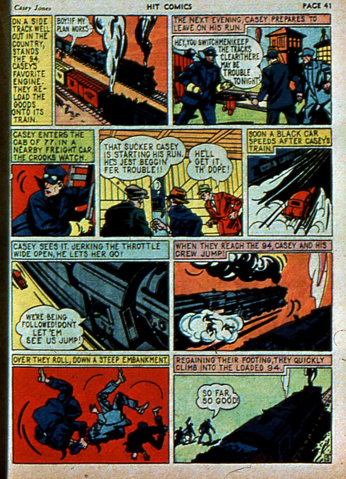 Read online Hit Comics comic -  Issue #3 - 43