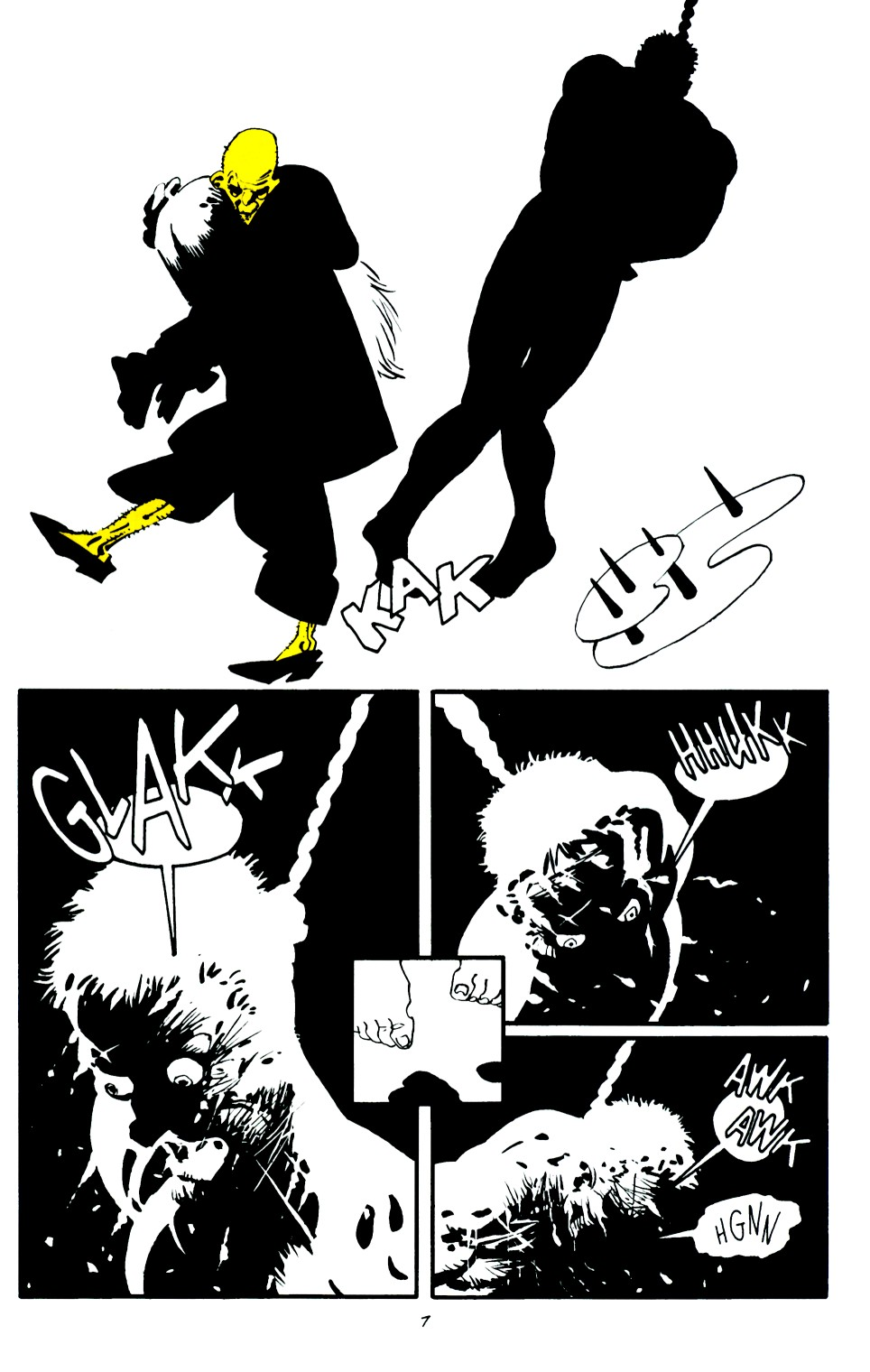 Read online Sin City: That Yellow Bastard comic -  Issue #6 - 8