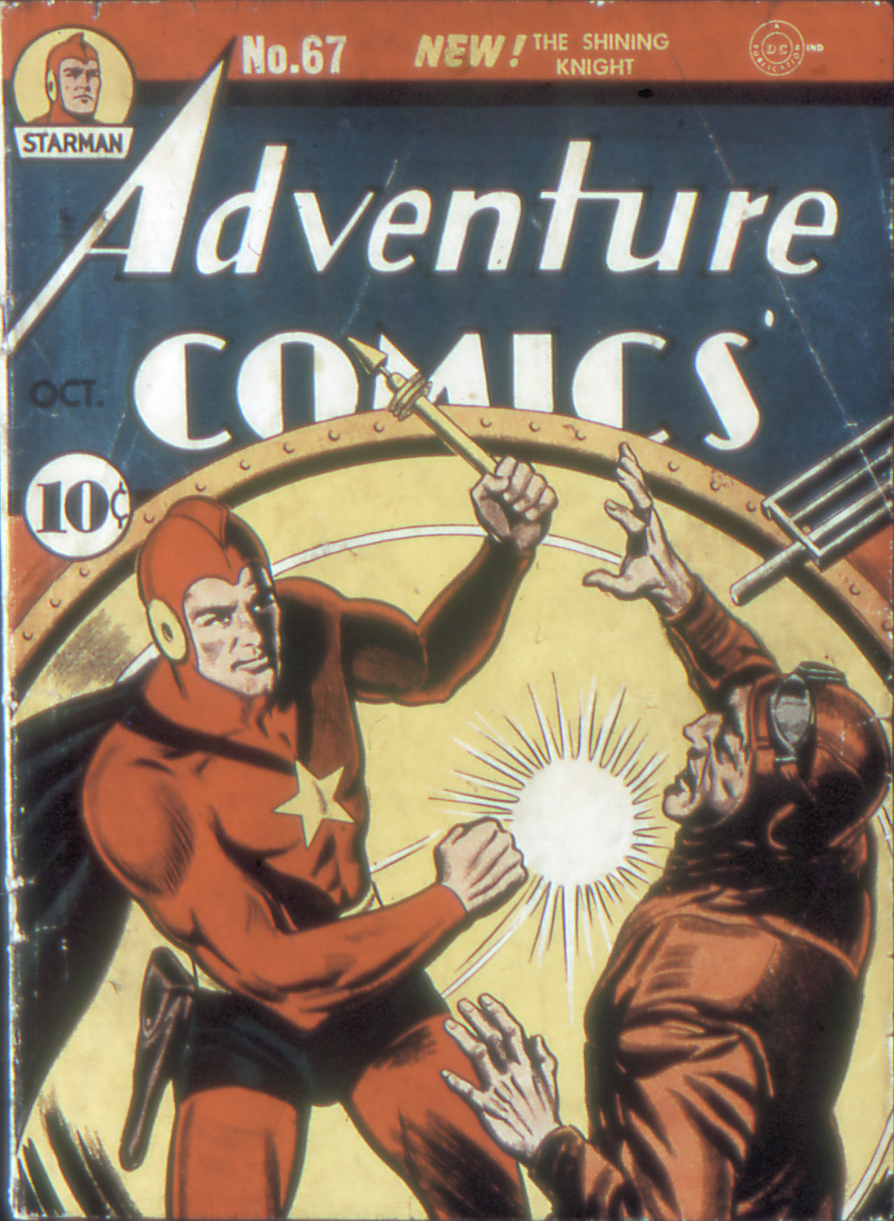 Read online Adventure Comics (1938) comic -  Issue #67 - 1