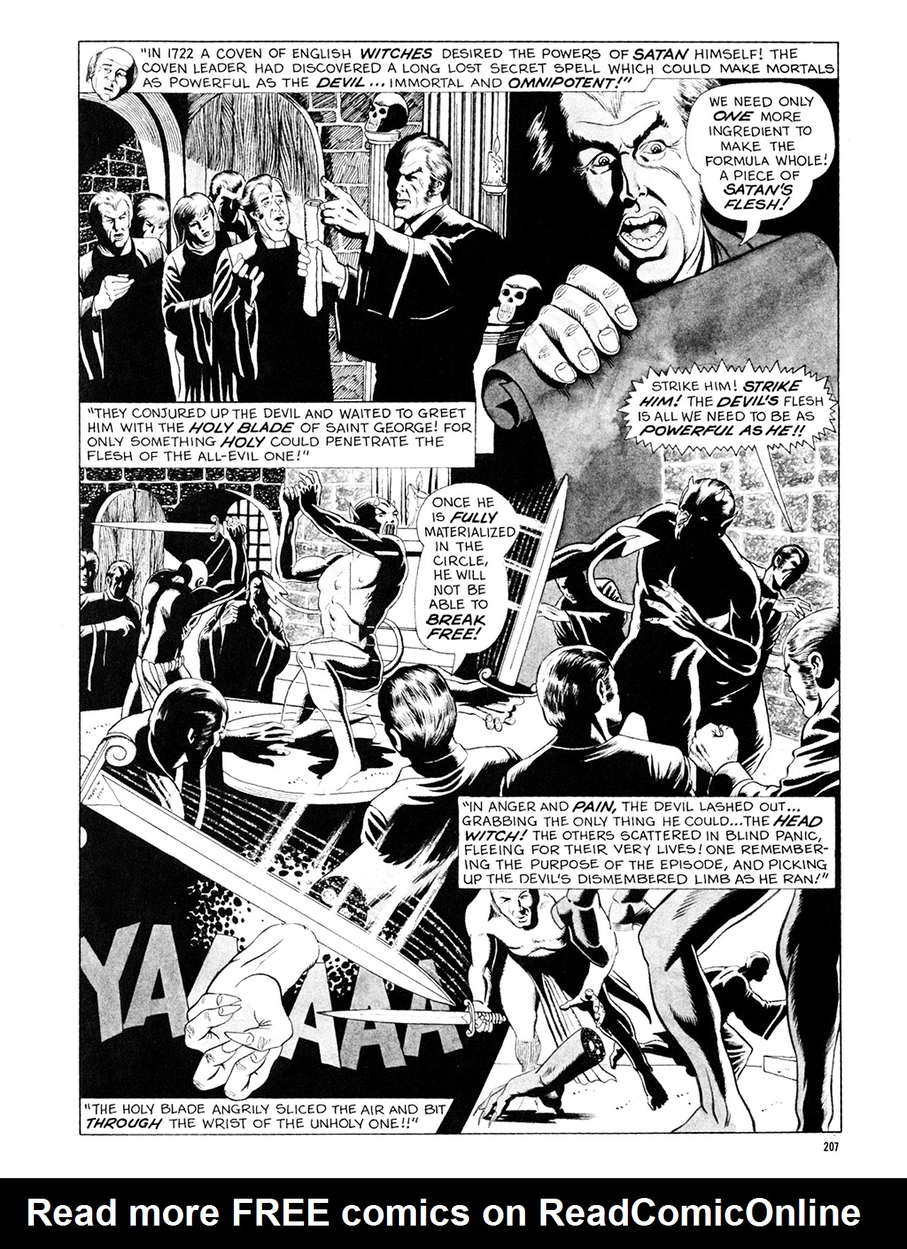 Read online Eerie Archives comic -  Issue # TPB 6 - 207