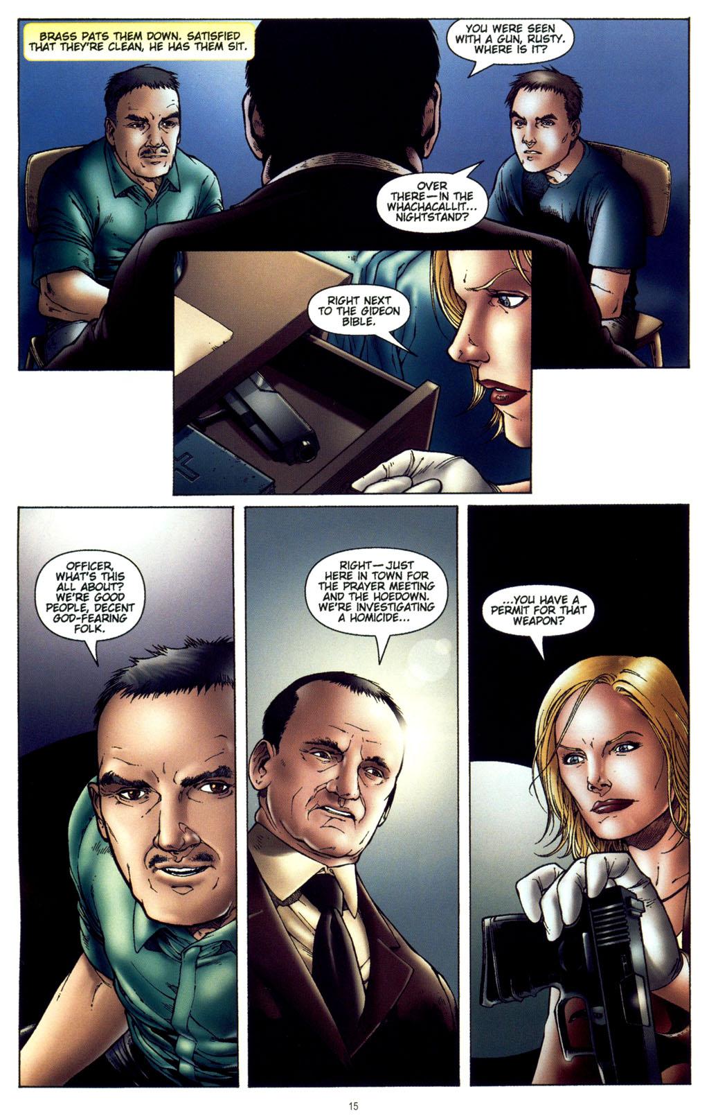 Read online CSI: Crime Scene Investigation: Bad Rap comic -  Issue #4 - 16