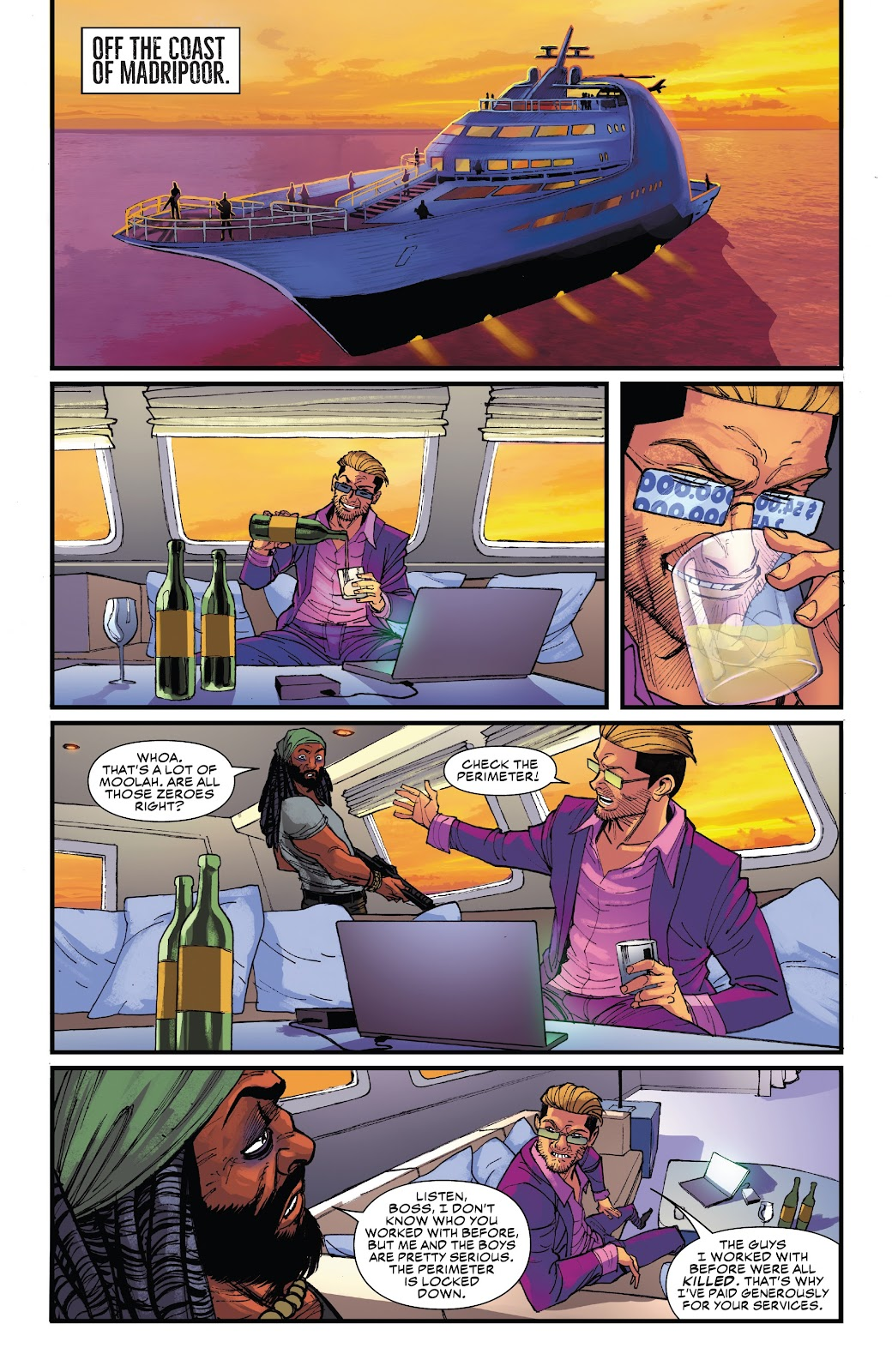 Read online Black Widow (2019) comic -  Issue #5 - 11