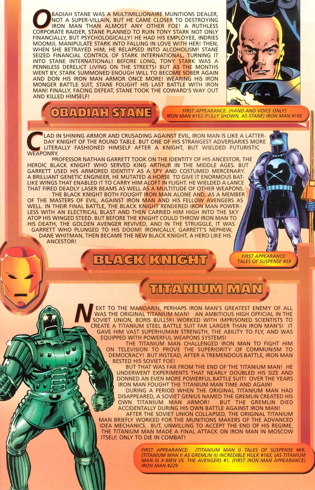 Read online Iron Man: The Legend comic -  Issue # Full - 32
