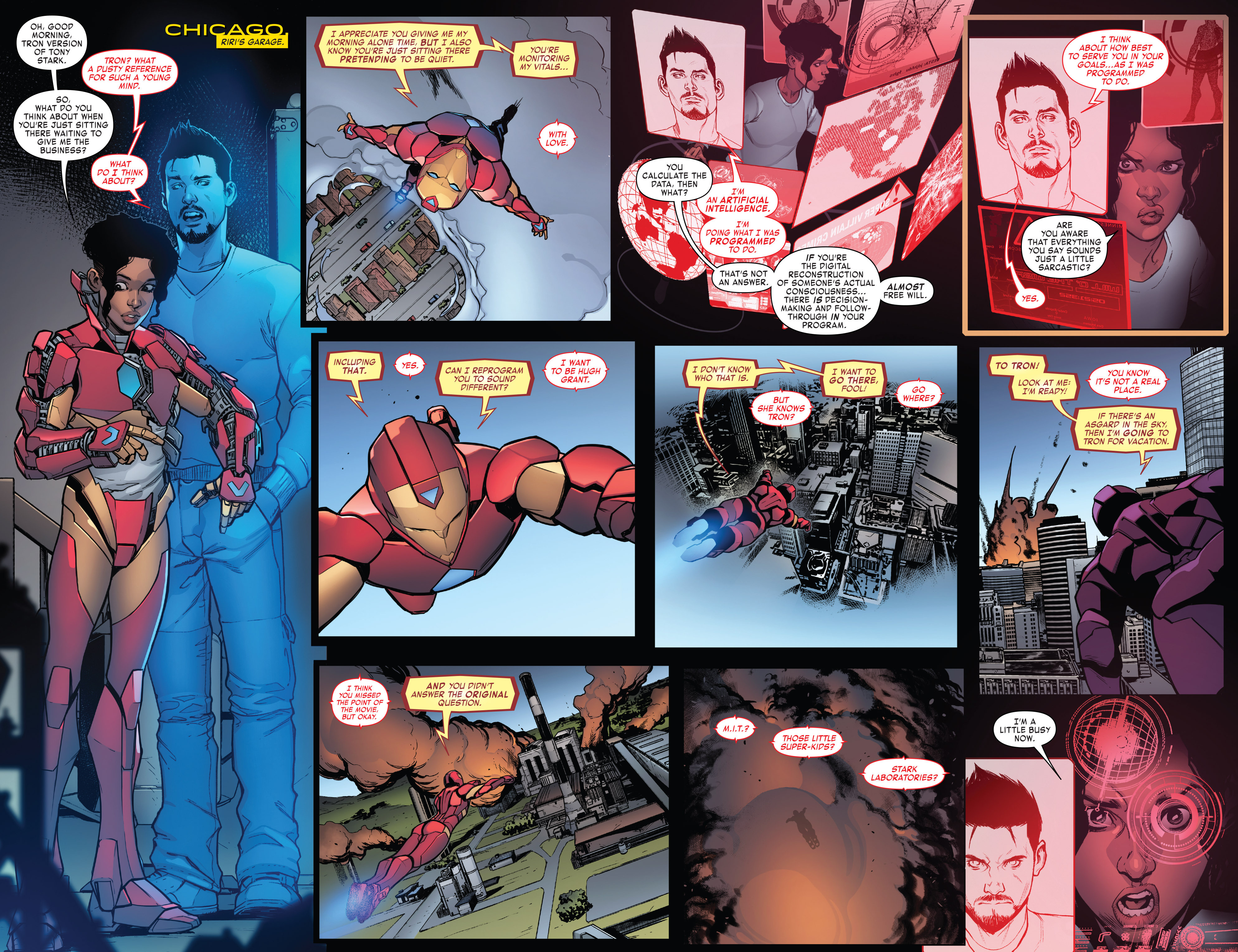 Read online Invincible Iron Man (2016) comic -  Issue #7 - 7