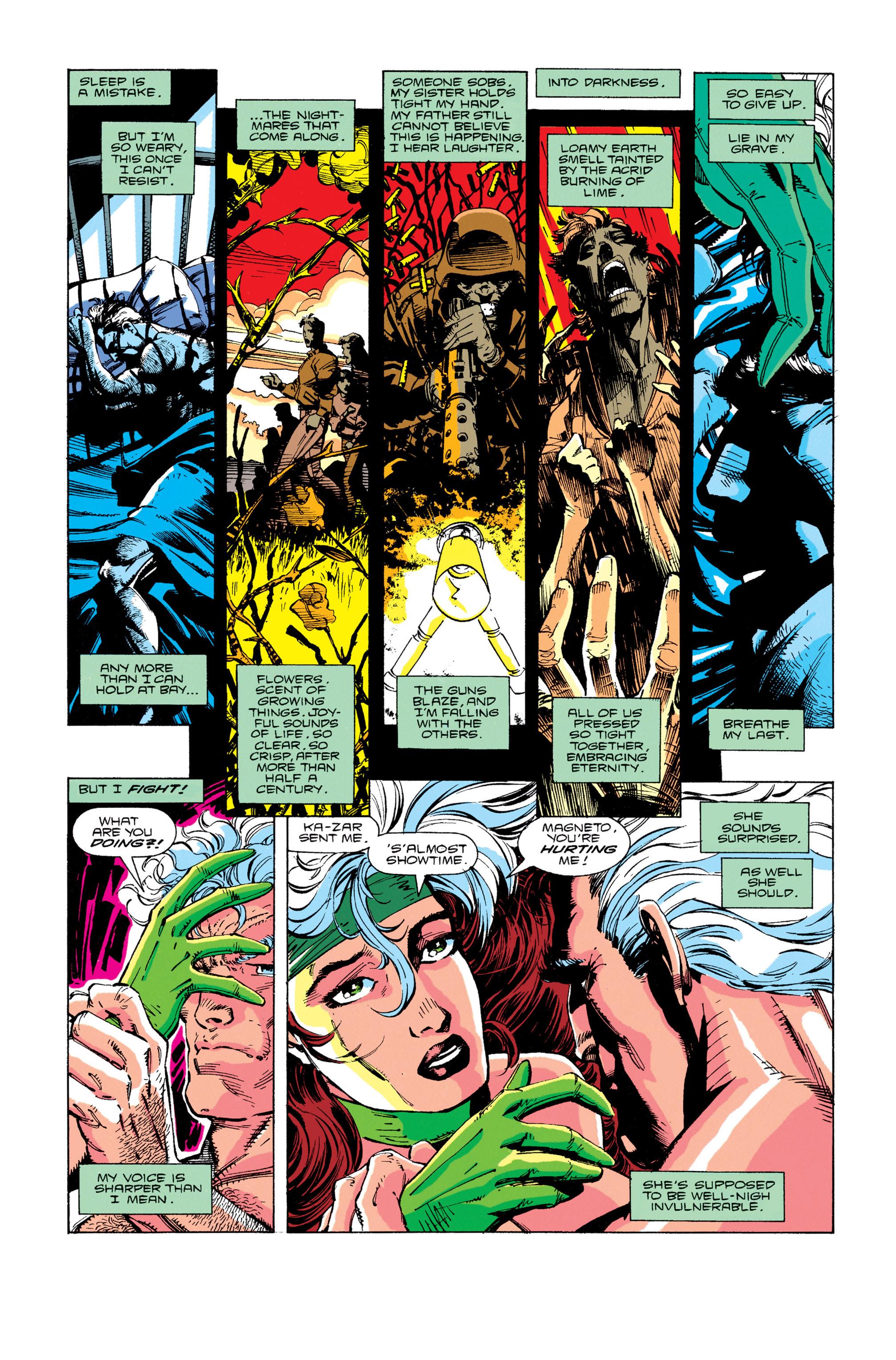Read online Uncanny X-Men (1963) comic -  Issue #274 - 10