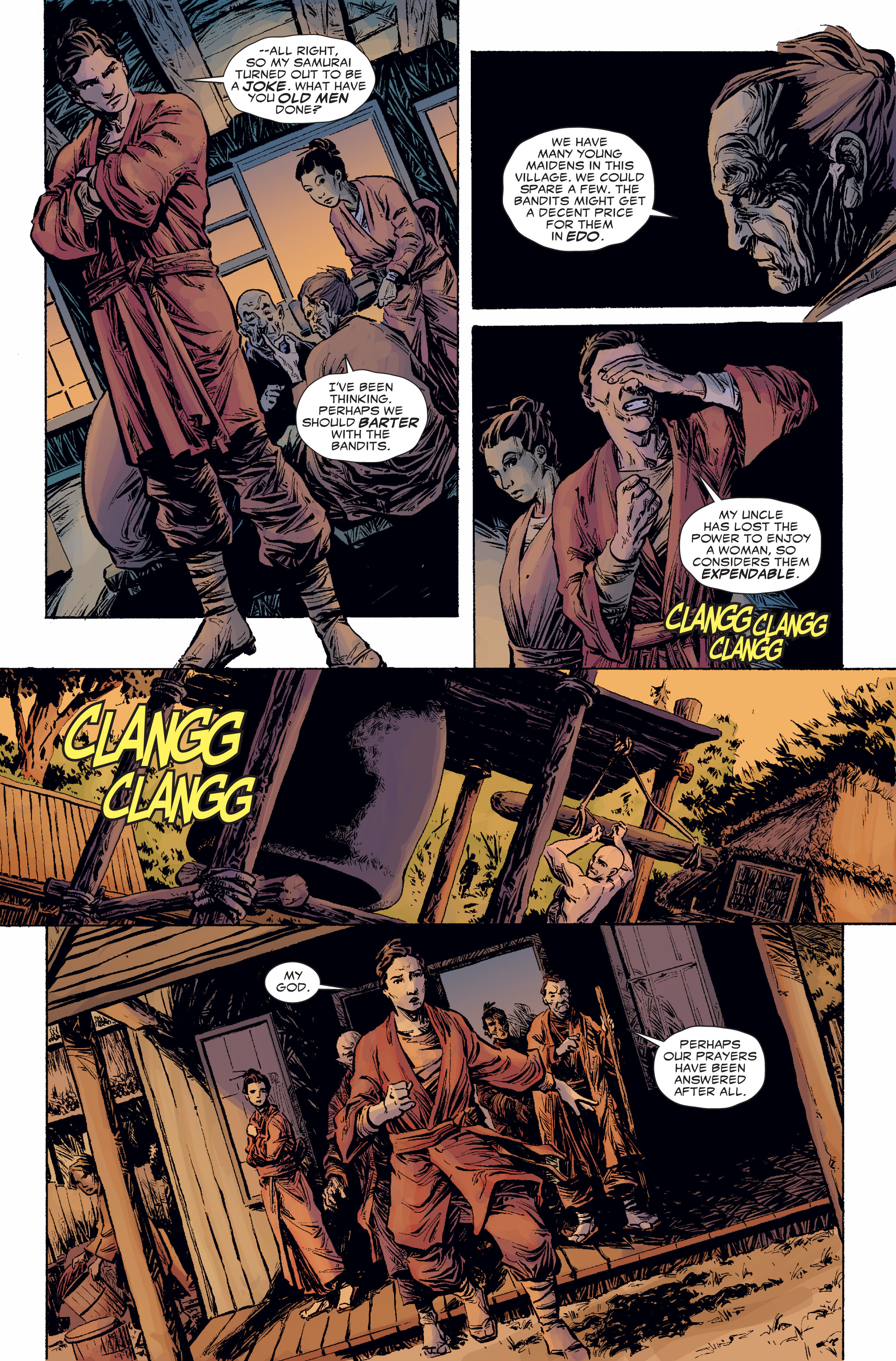Read online 5 Ronin (2011) comic -  Issue #2 - 12