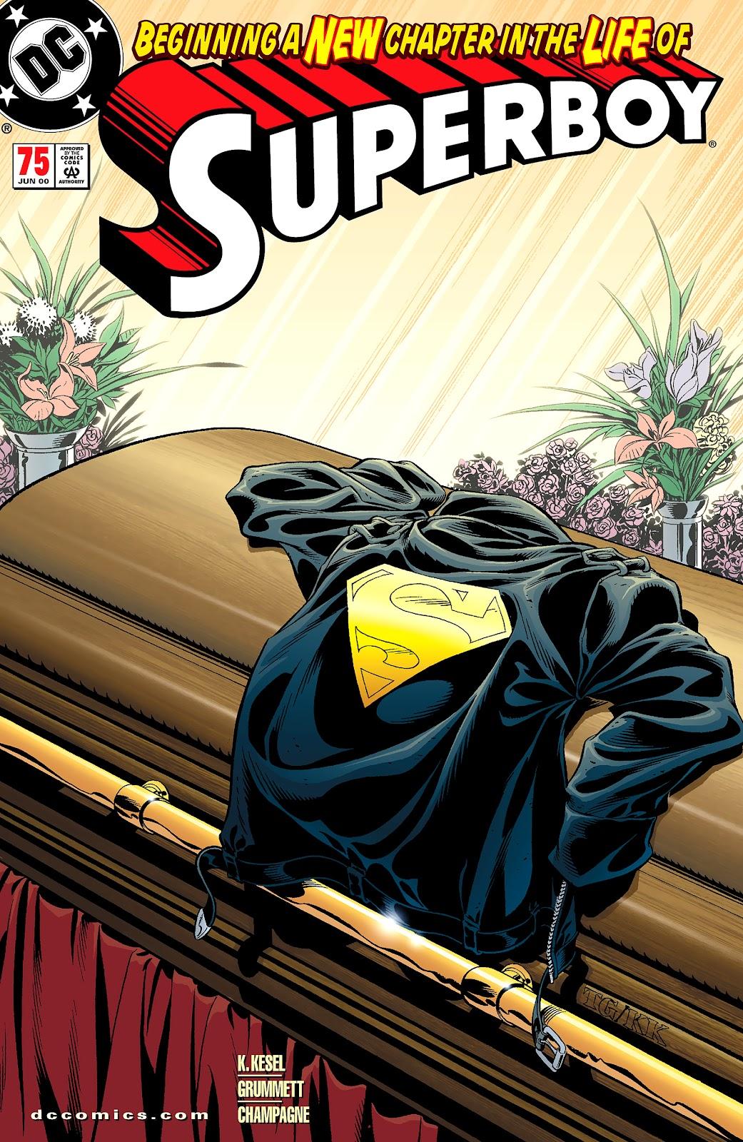 Superboy (1994) 75 Page 1