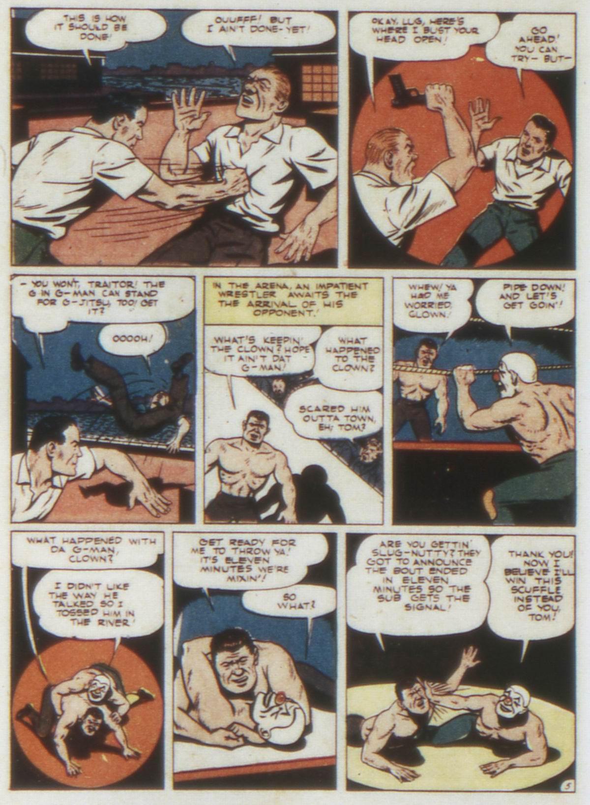 Read online Detective Comics (1937) comic -  Issue #74 - 46