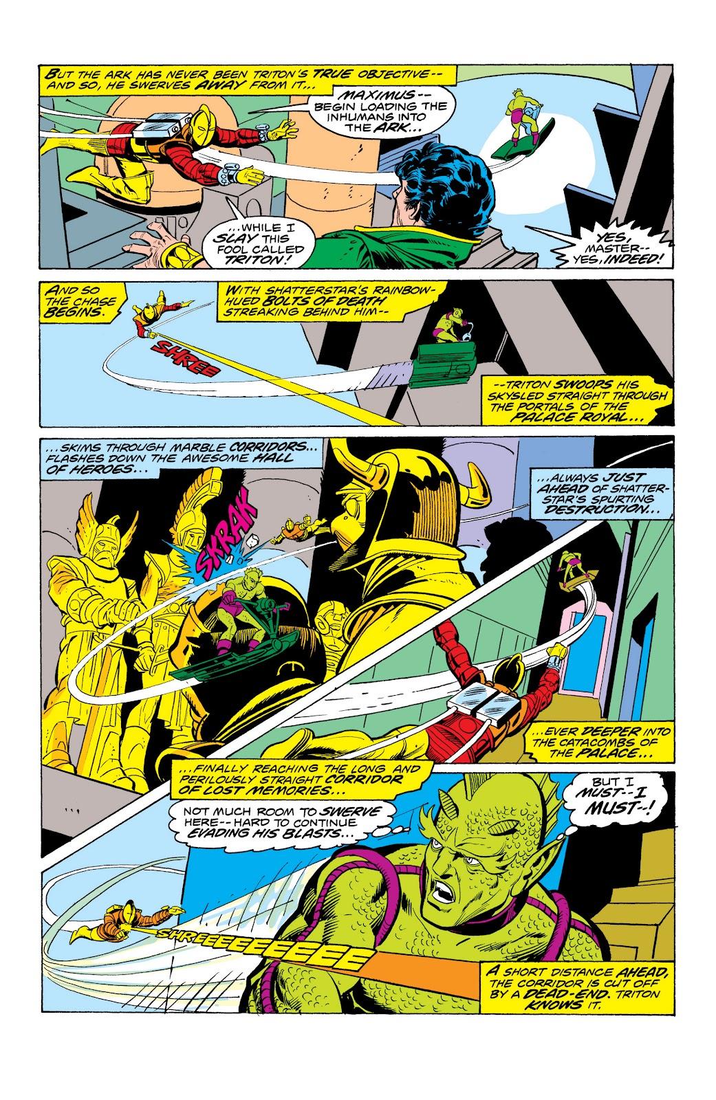 Read online Marvel Masterworks: The Inhumans comic -  Issue # TPB 2 (Part 1) - 97