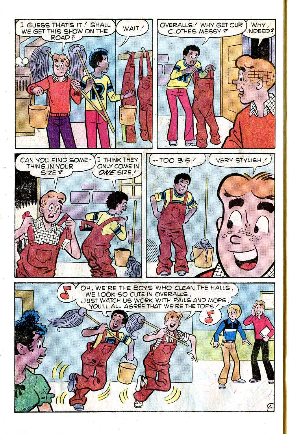Read online Archie (1960) comic -  Issue #276 - 6
