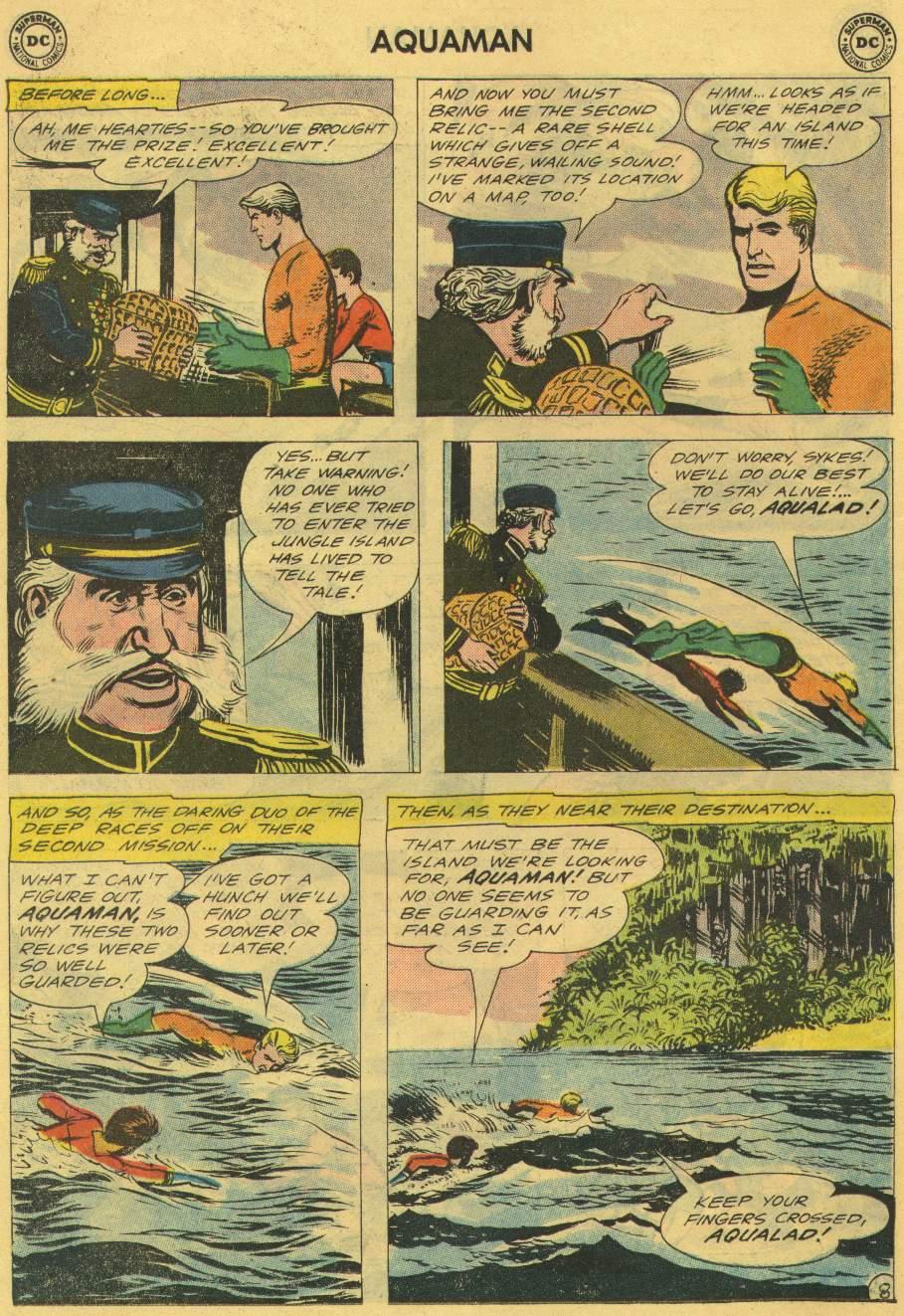 Read online Aquaman (1962) comic -  Issue #2 - 10