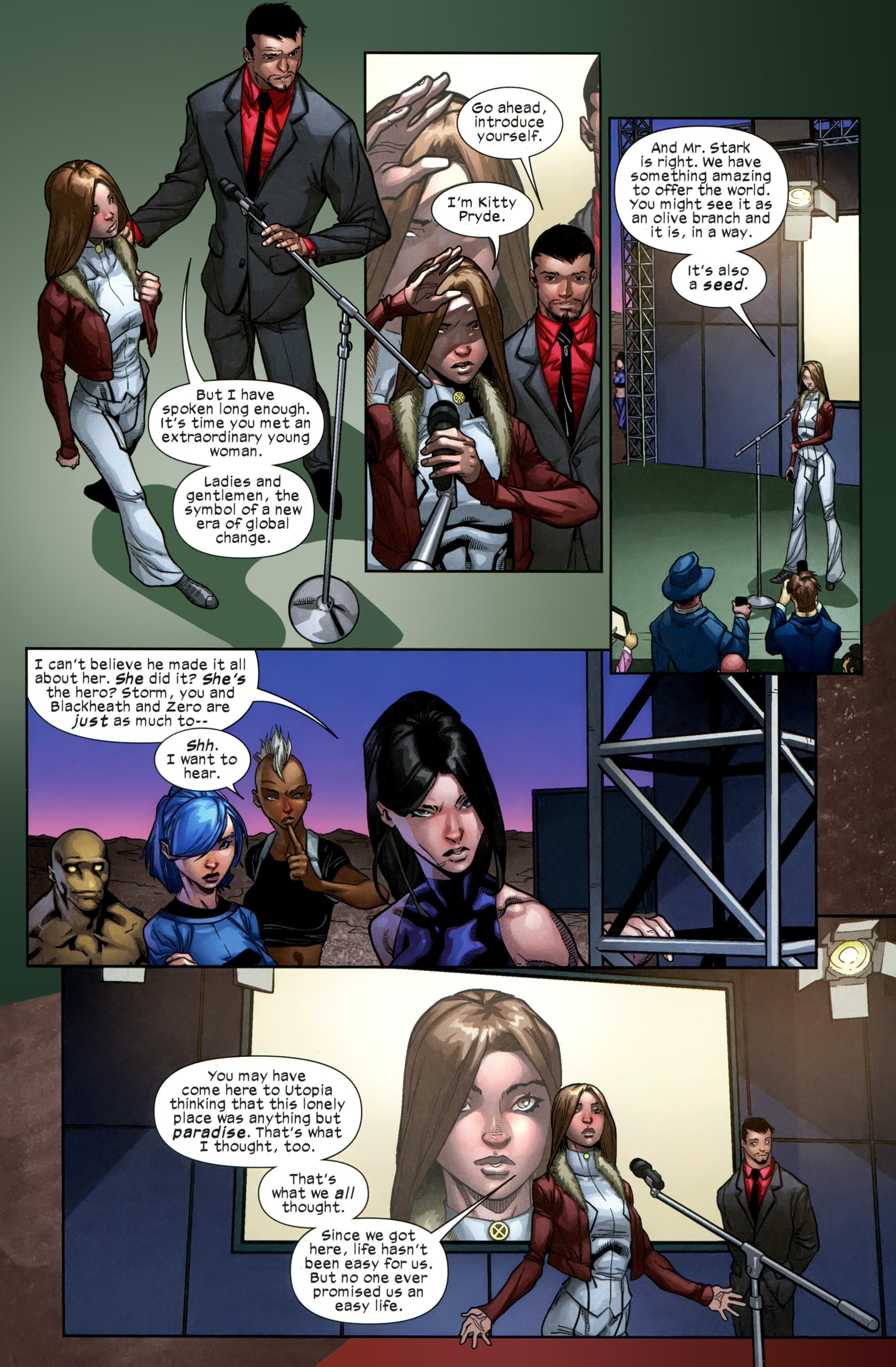 Read online Ultimate Comics X-Men comic -  Issue #21 - 4