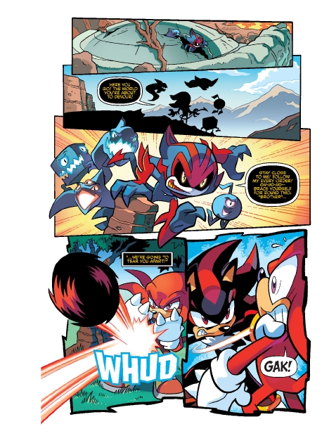 Read online Sonic Comics Spectacular: Speed of Sound comic -  Issue # Full - 221