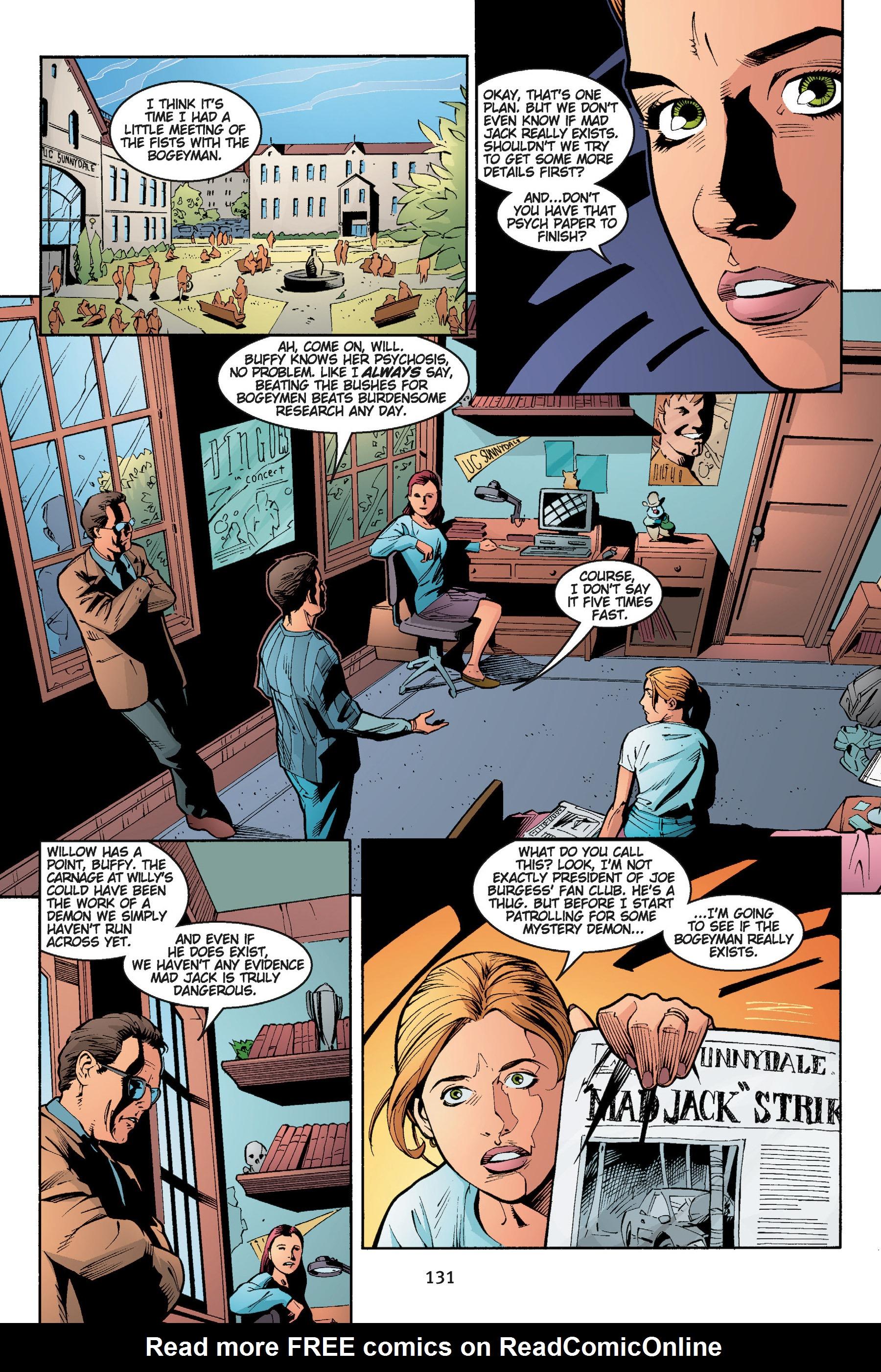 Read online Buffy the Vampire Slayer: Omnibus comic -  Issue # TPB 5 - 131