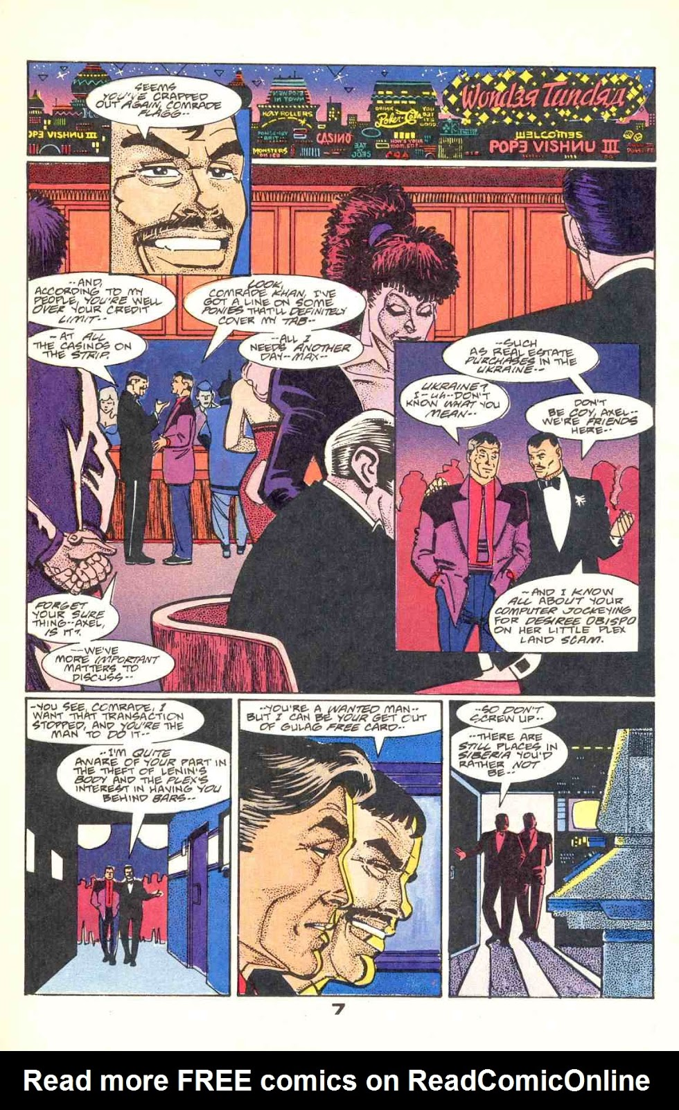 Howard Chaykin's American Flagg issue 12 - Page 9