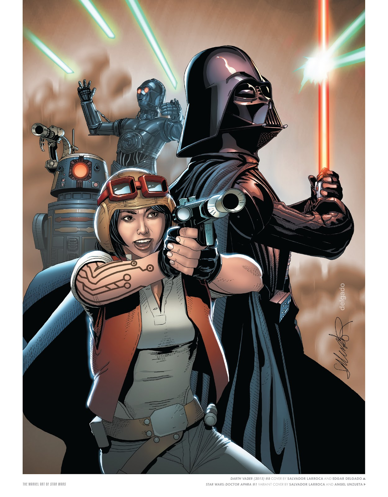 Read online The Marvel Art of Star Wars comic -  Issue # TPB (Part 1) - 68