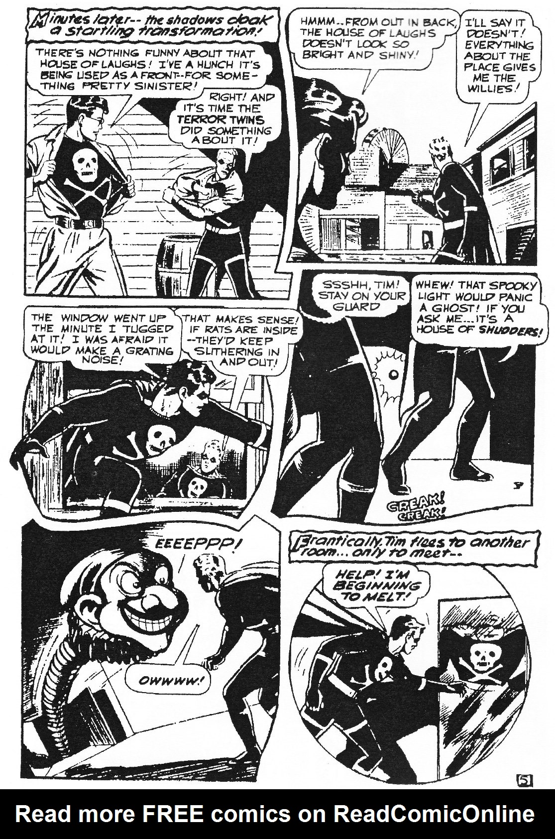 Read online Men of Mystery Comics comic -  Issue #76 - 8