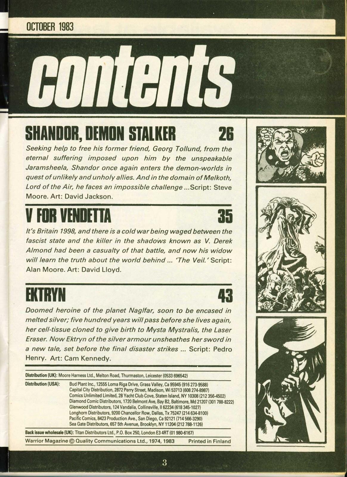 Warrior Issue #14 #15 - English 3