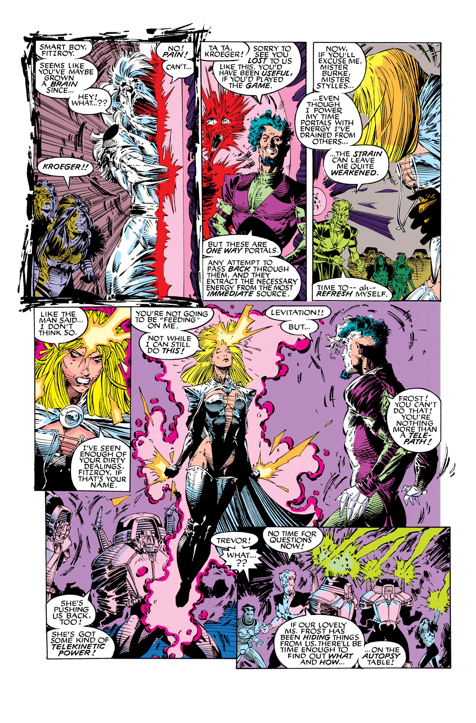 Read online Uncanny X-Men (1963) comic -  Issue #282 - 12