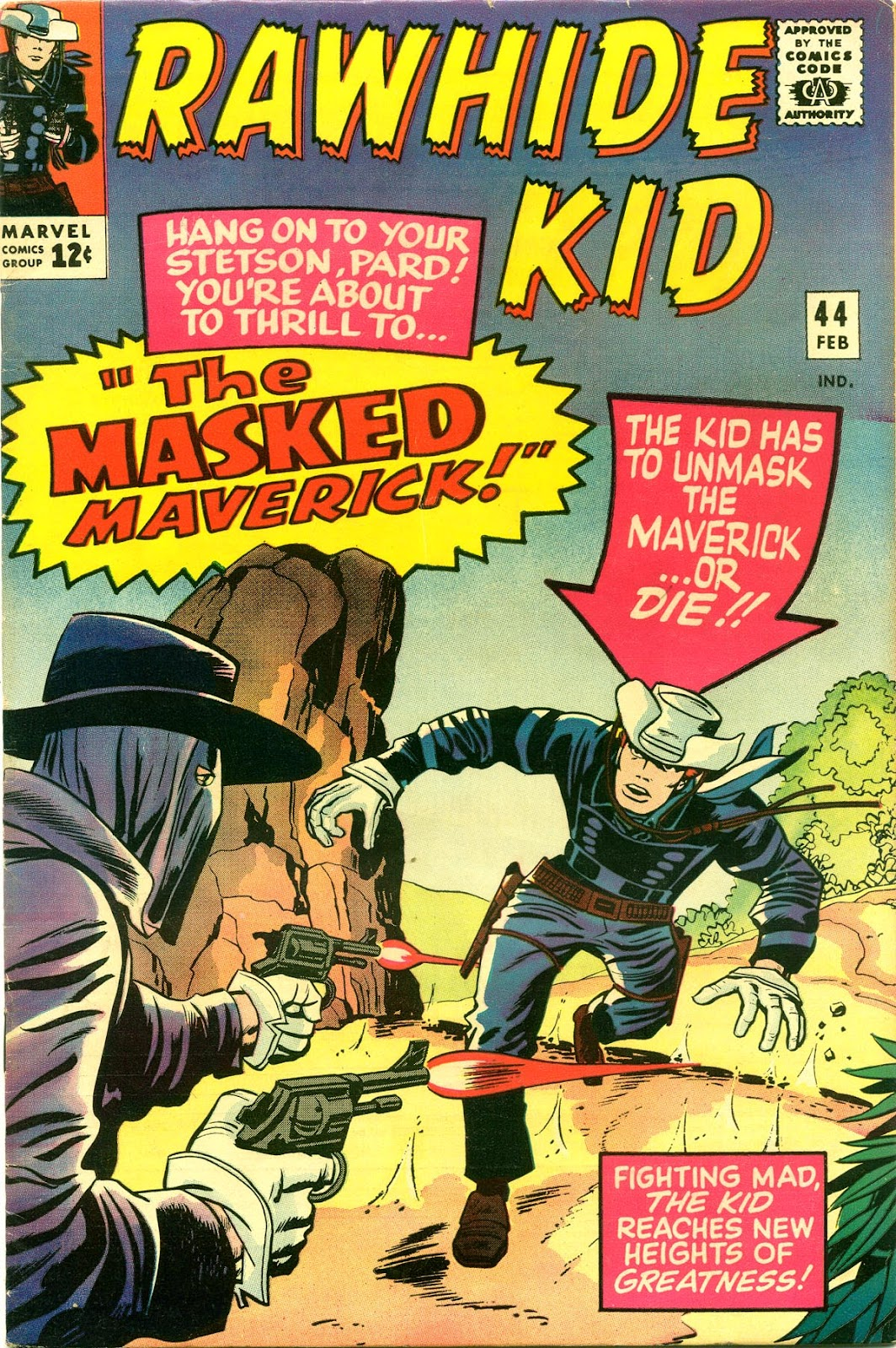 The Rawhide Kid (1955) issue 44 - Page 1