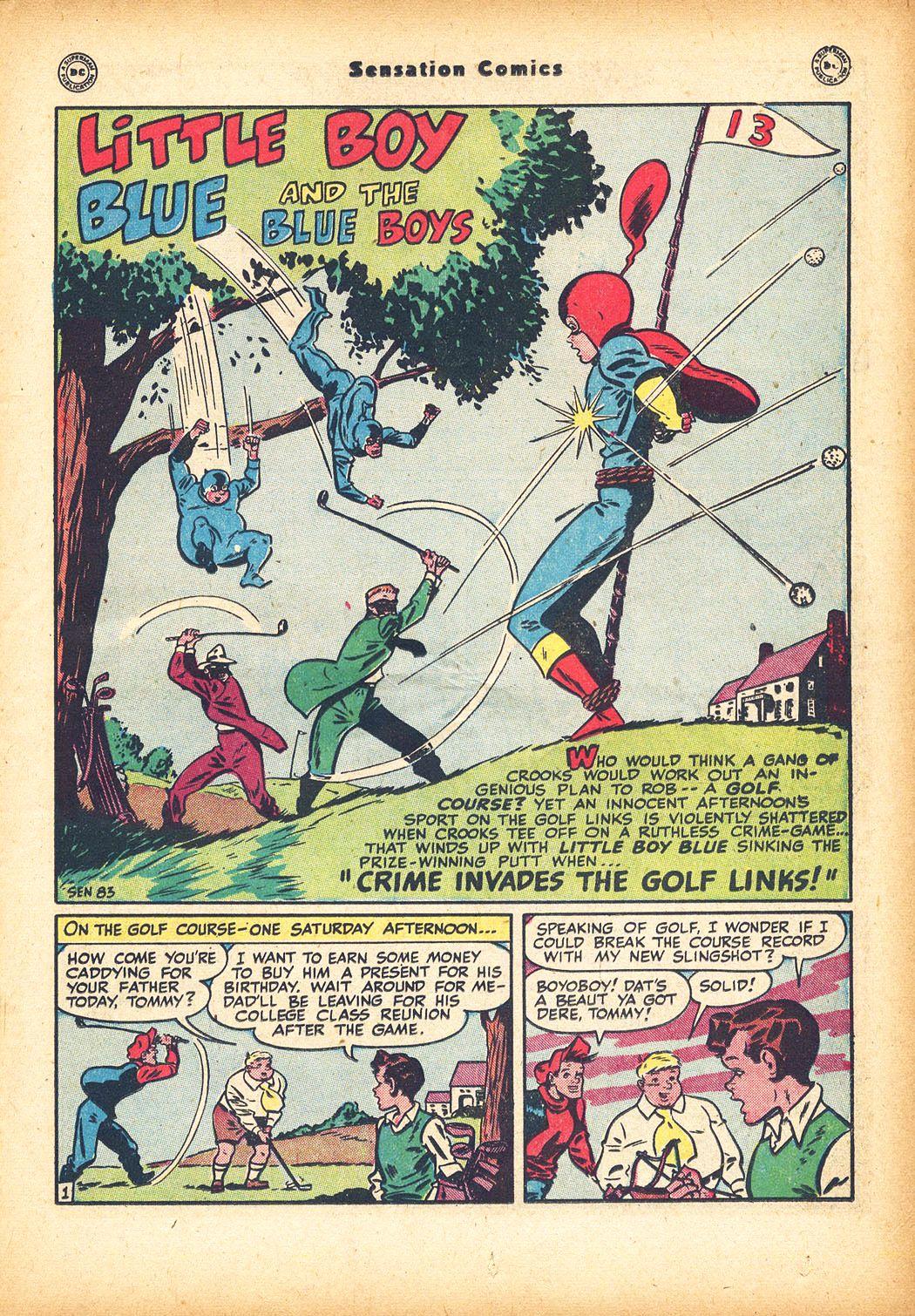Read online Sensation (Mystery) Comics comic -  Issue #78 - 17