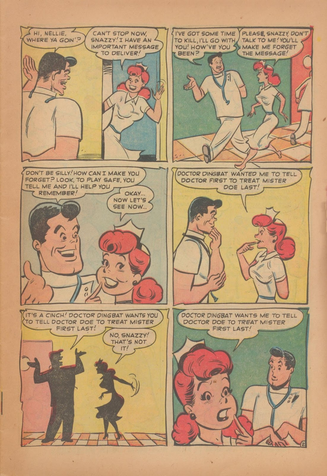 Nellie The Nurse (1945) issue 28 - Page 9