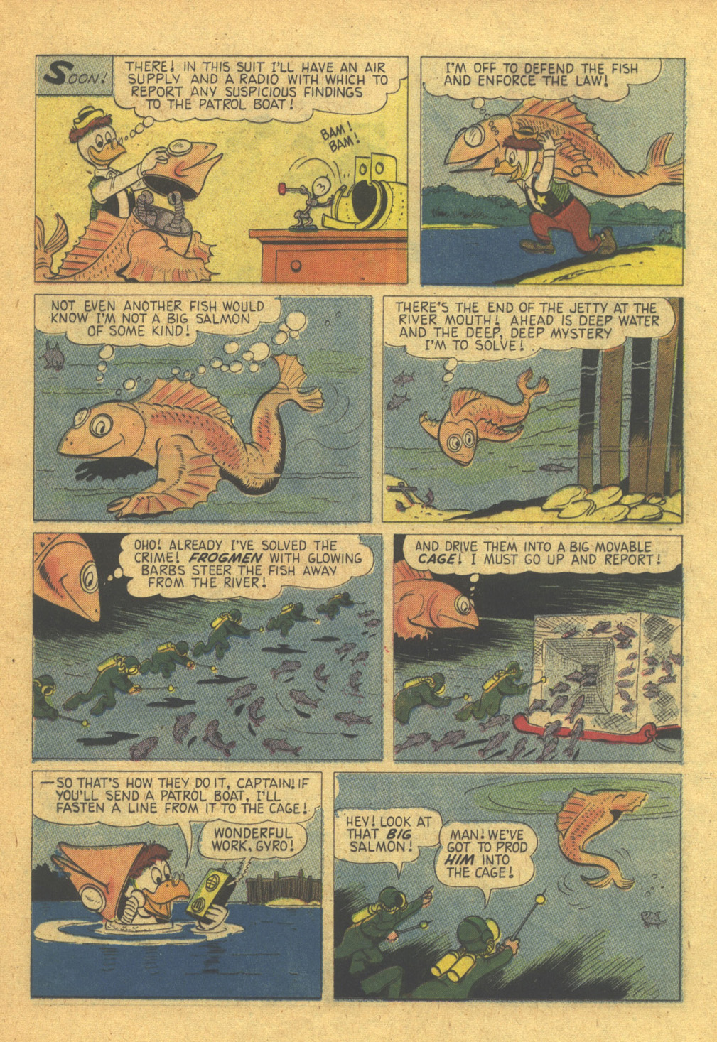 Read online Uncle Scrooge (1953) comic -  Issue #31 - 21