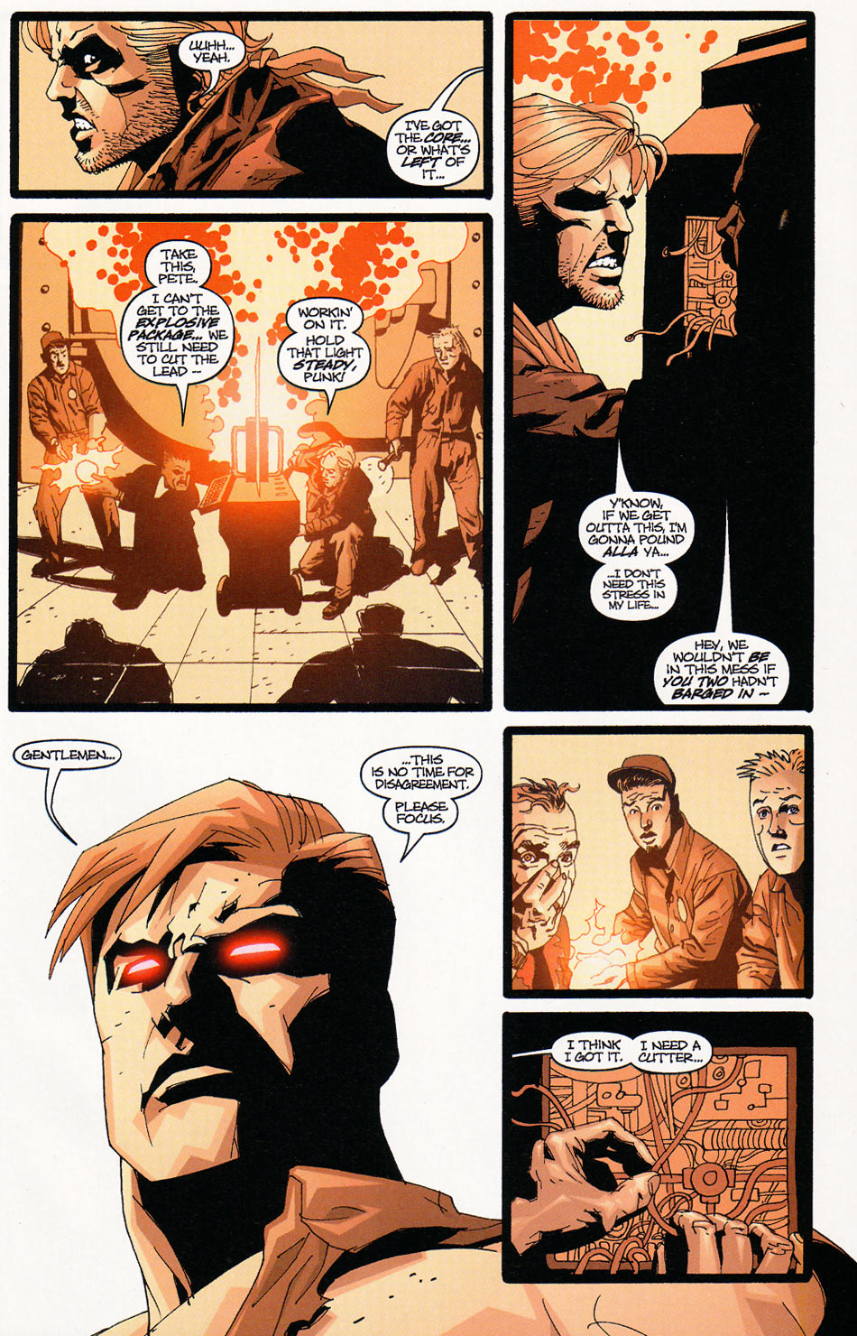 Wildcats (1999) Issue #9 #10 - English 19