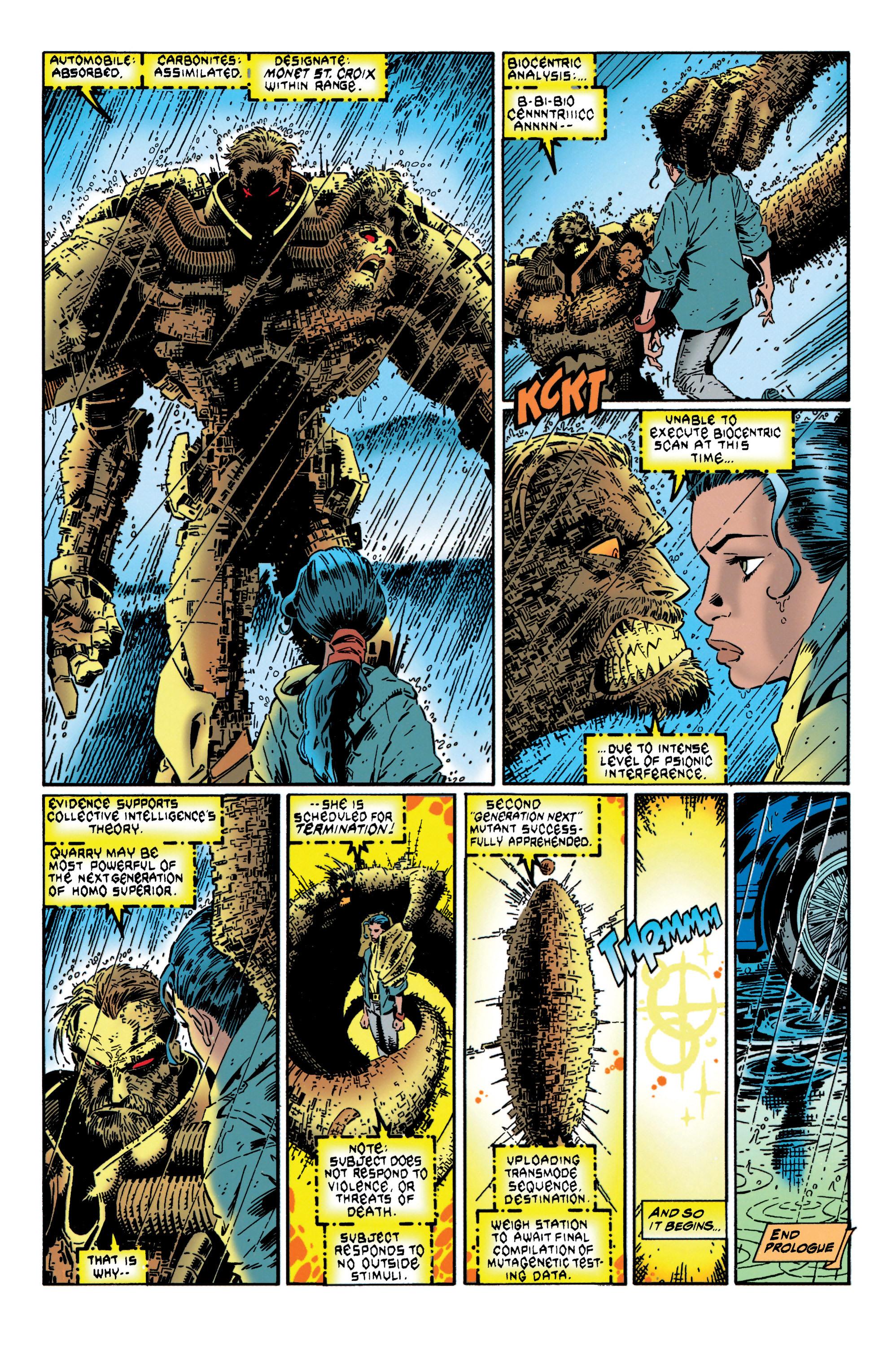 Read online Uncanny X-Men (1963) comic -  Issue #316 - 6