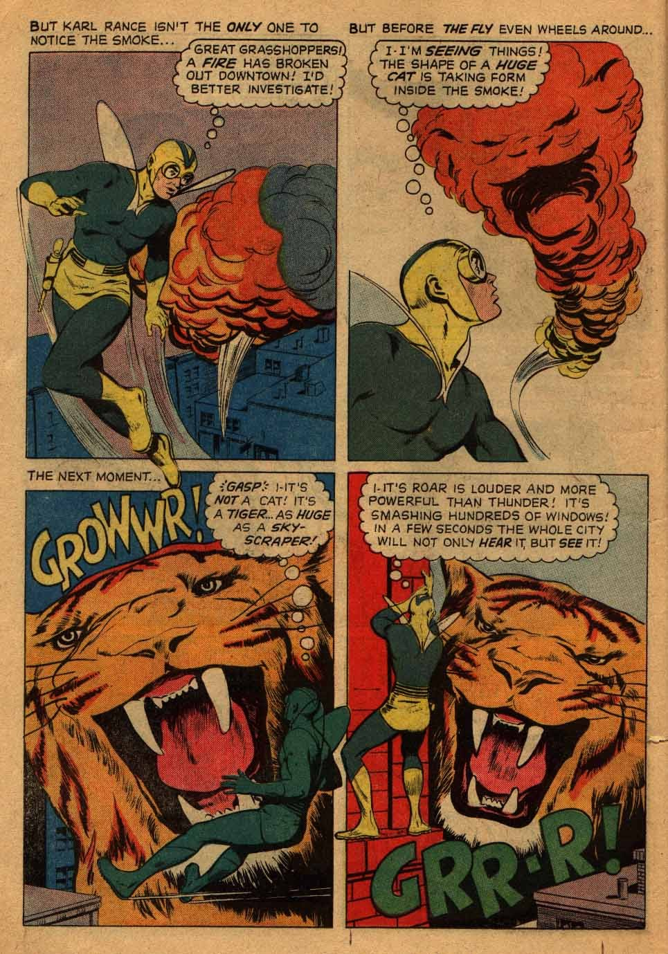 Adventures of the Fly issue 13 - Page 6