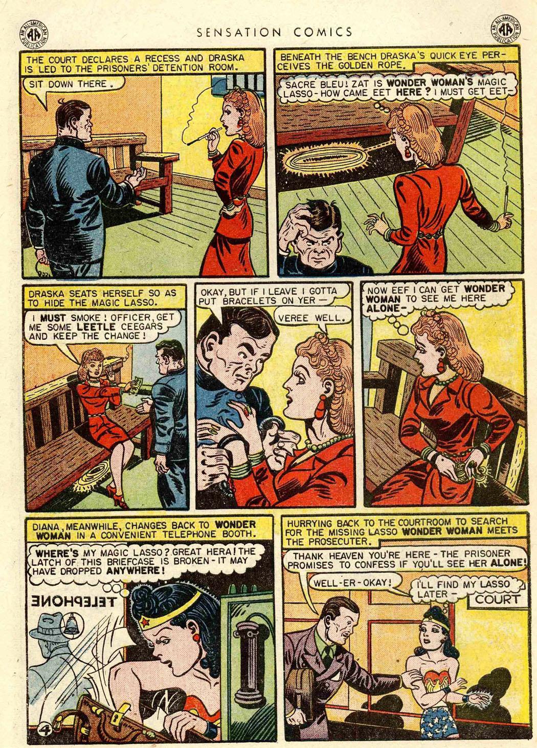 Read online Sensation (Mystery) Comics comic -  Issue #42 - 6
