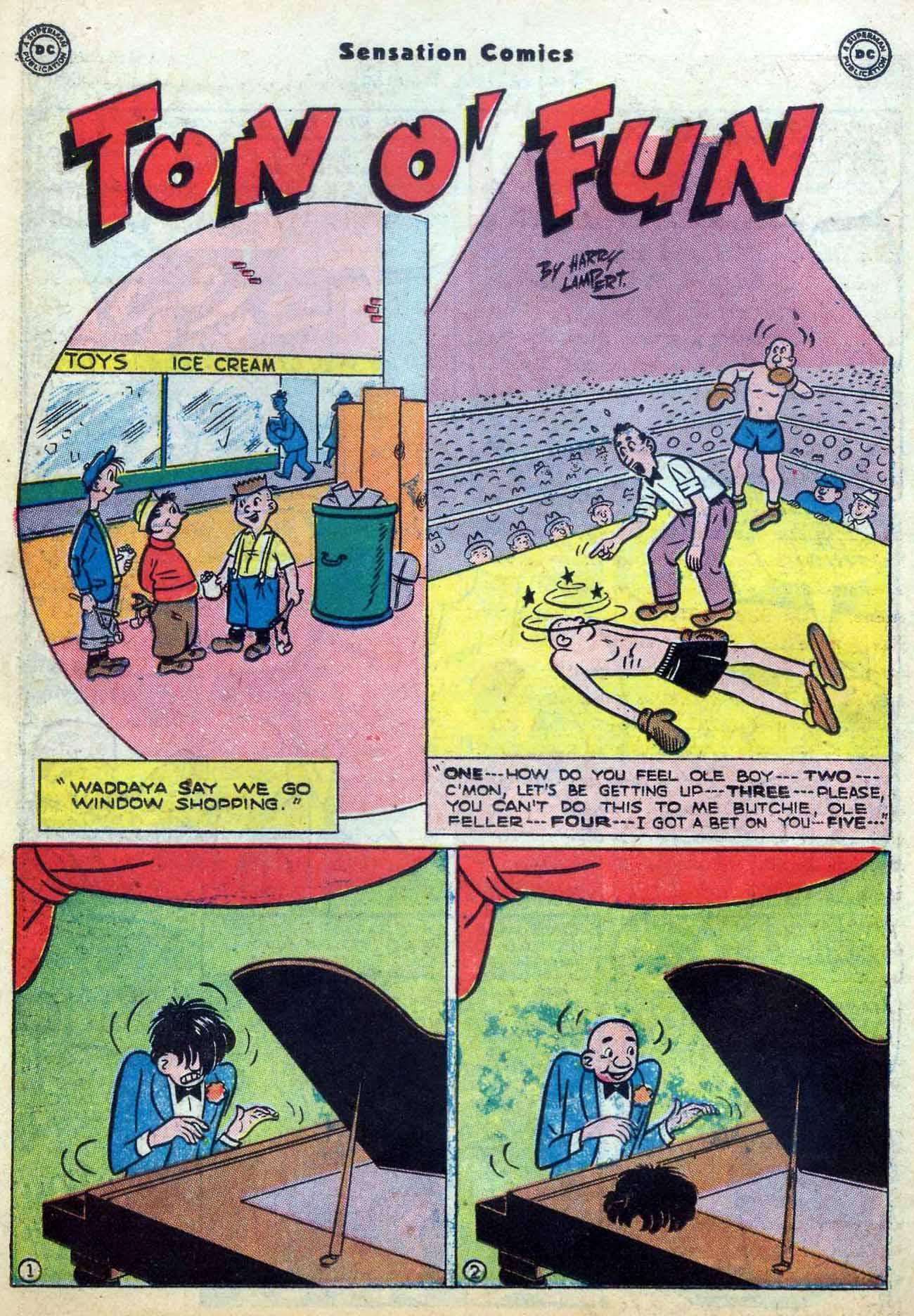 Read online Sensation (Mystery) Comics comic -  Issue #59 - 38