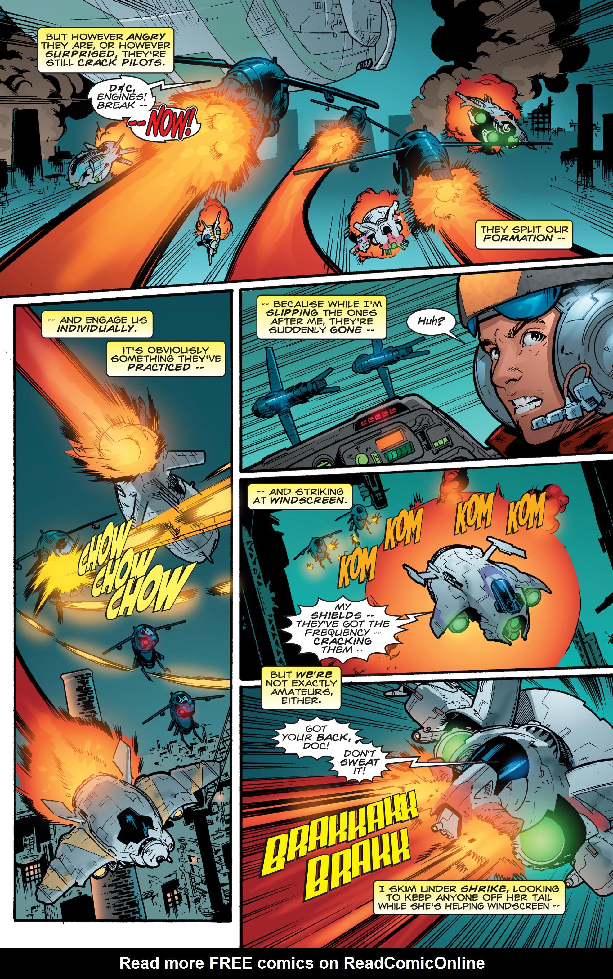 Read online Shockrockets comic -  Issue # TPB - 136