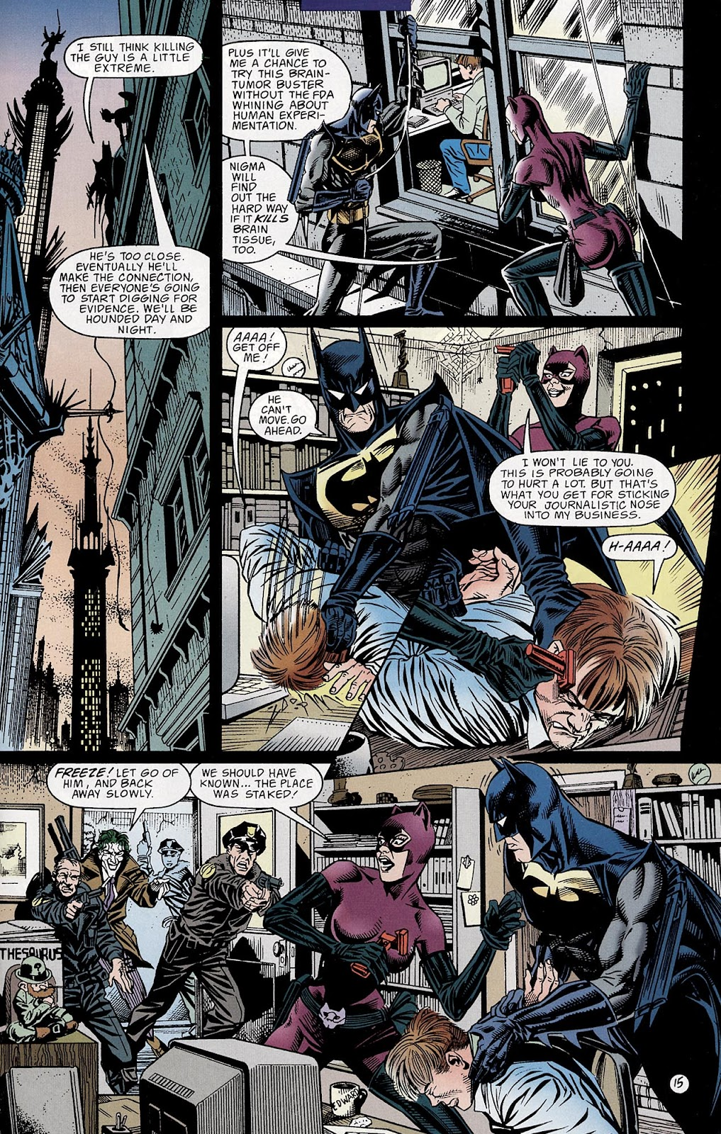 Catwoman (1993) Annual 3 #3 - English 16