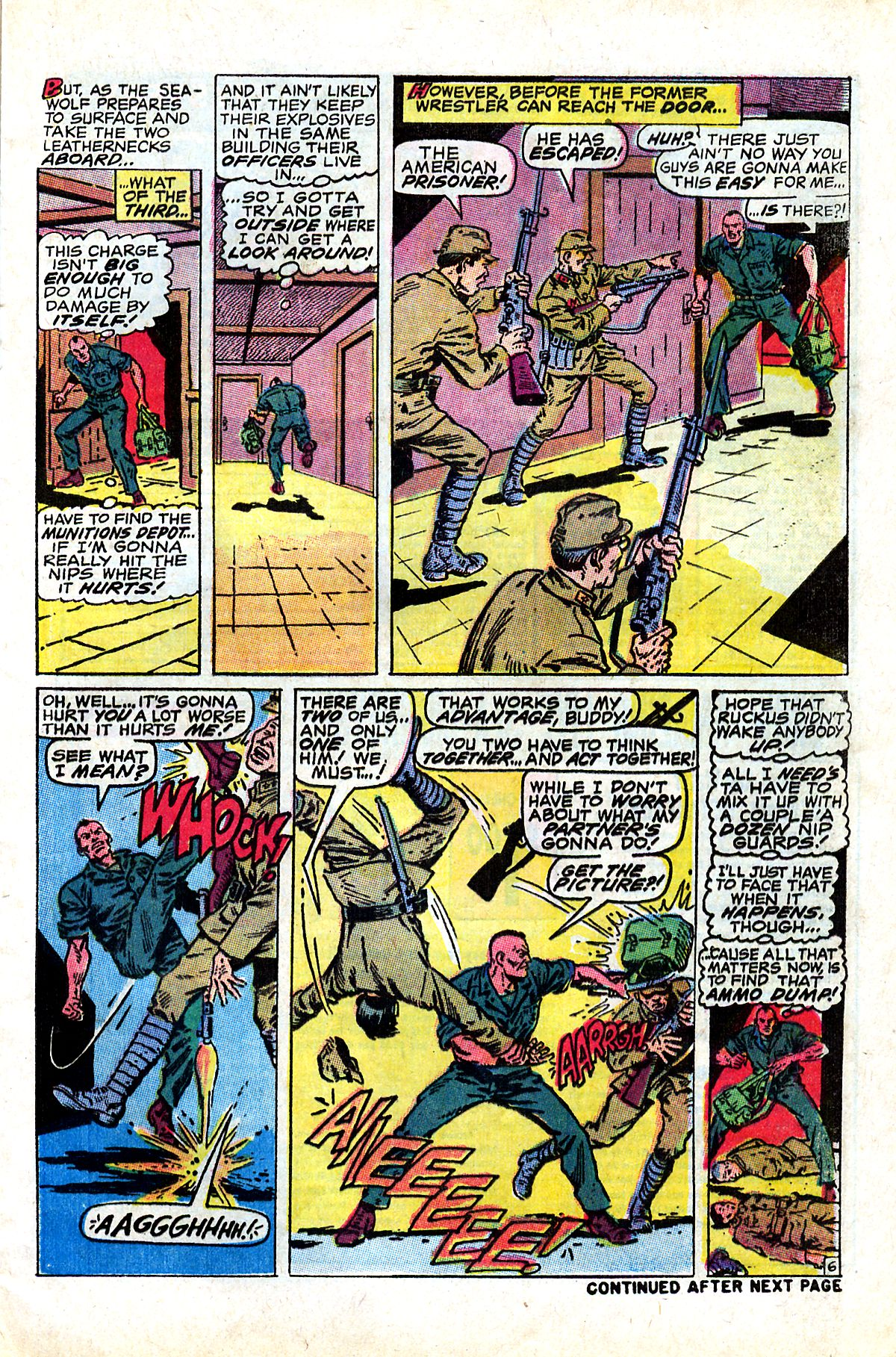 Captain Savage and his Leatherneck Raiders issue 17 - Page 9