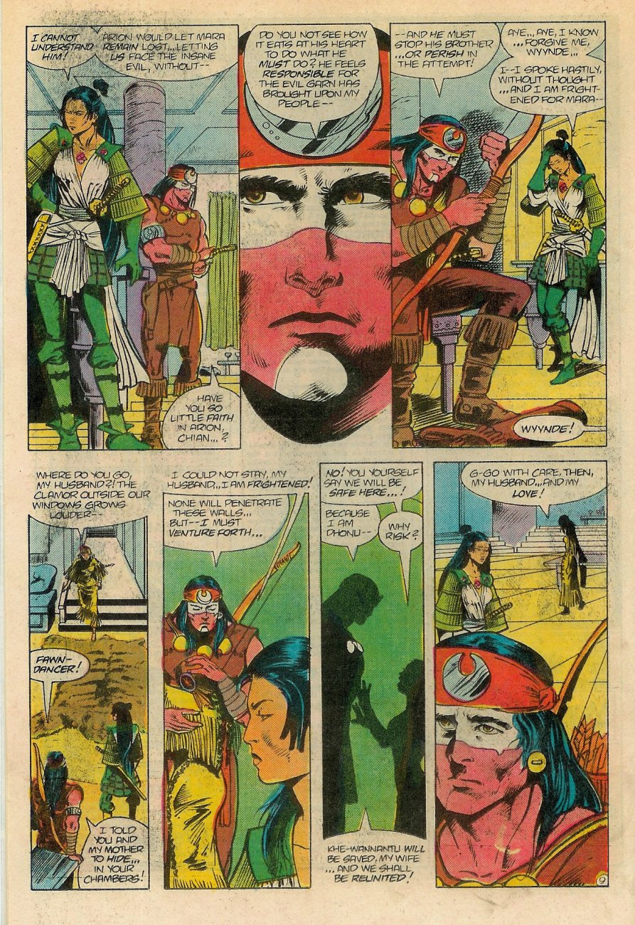 Read online Arion, Lord of Atlantis comic -  Issue #18 - 10