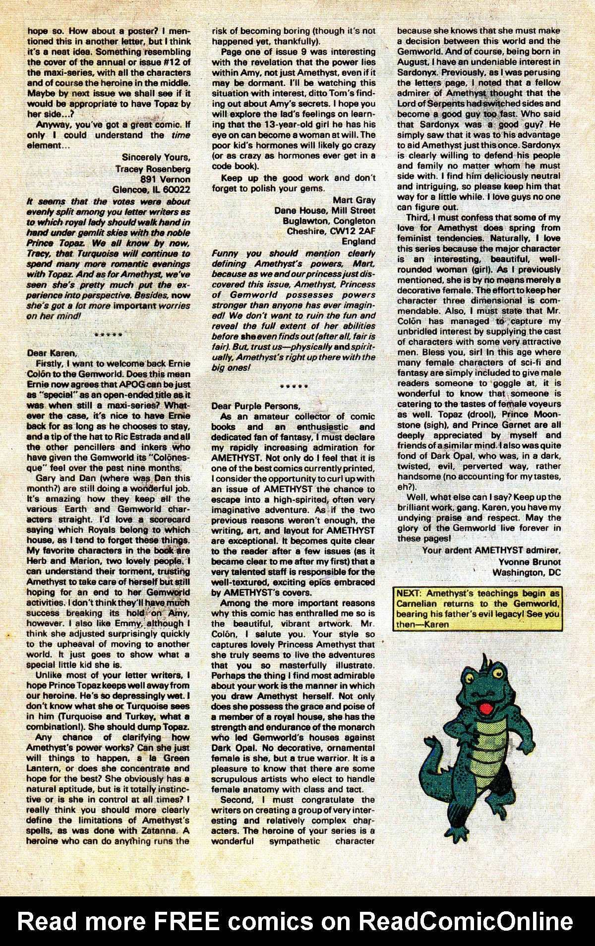 Read online Amethyst (1985) comic -  Issue #13 - 34