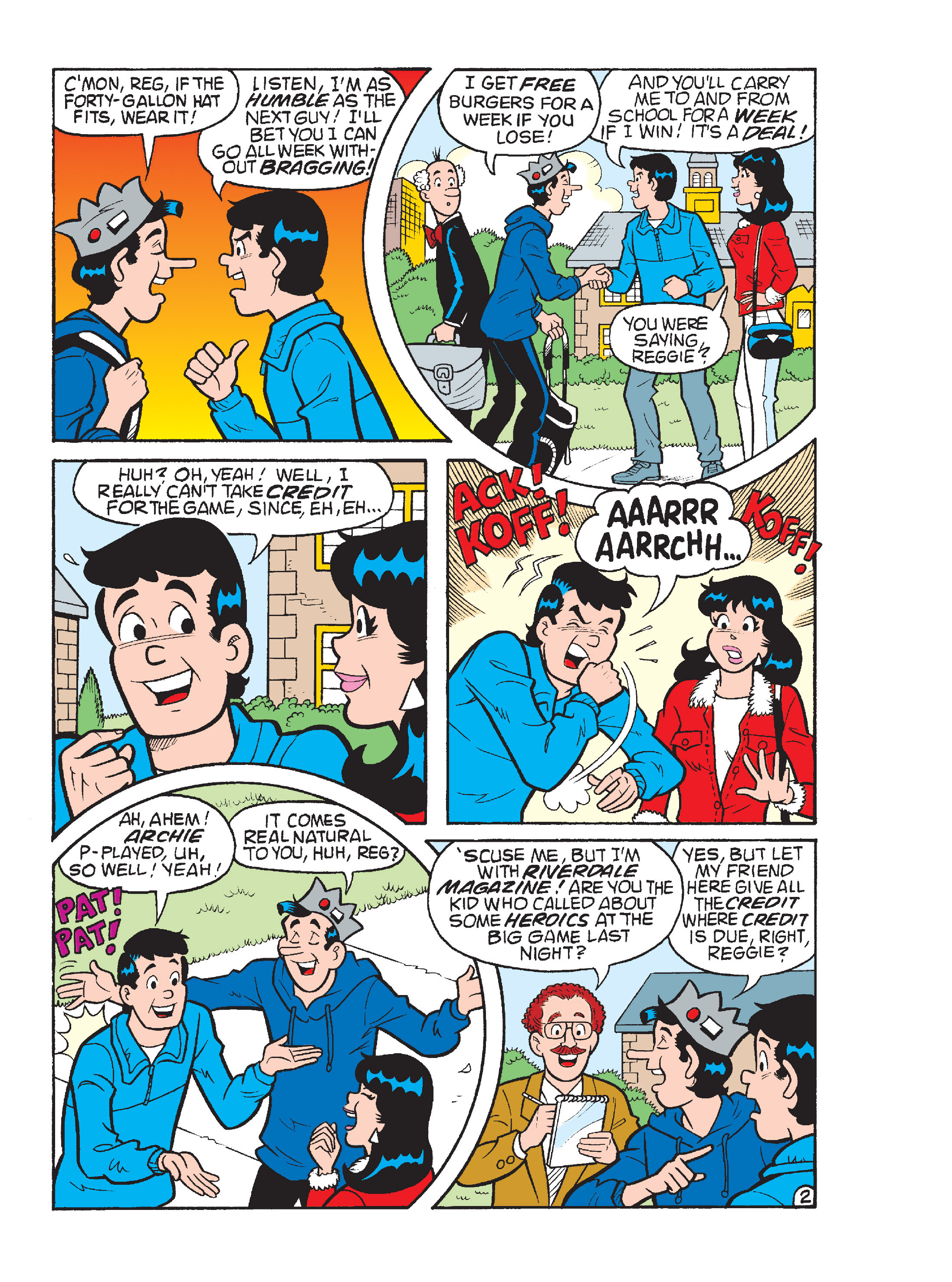 Read online Archie's Funhouse Double Digest comic -  Issue #17 - 147