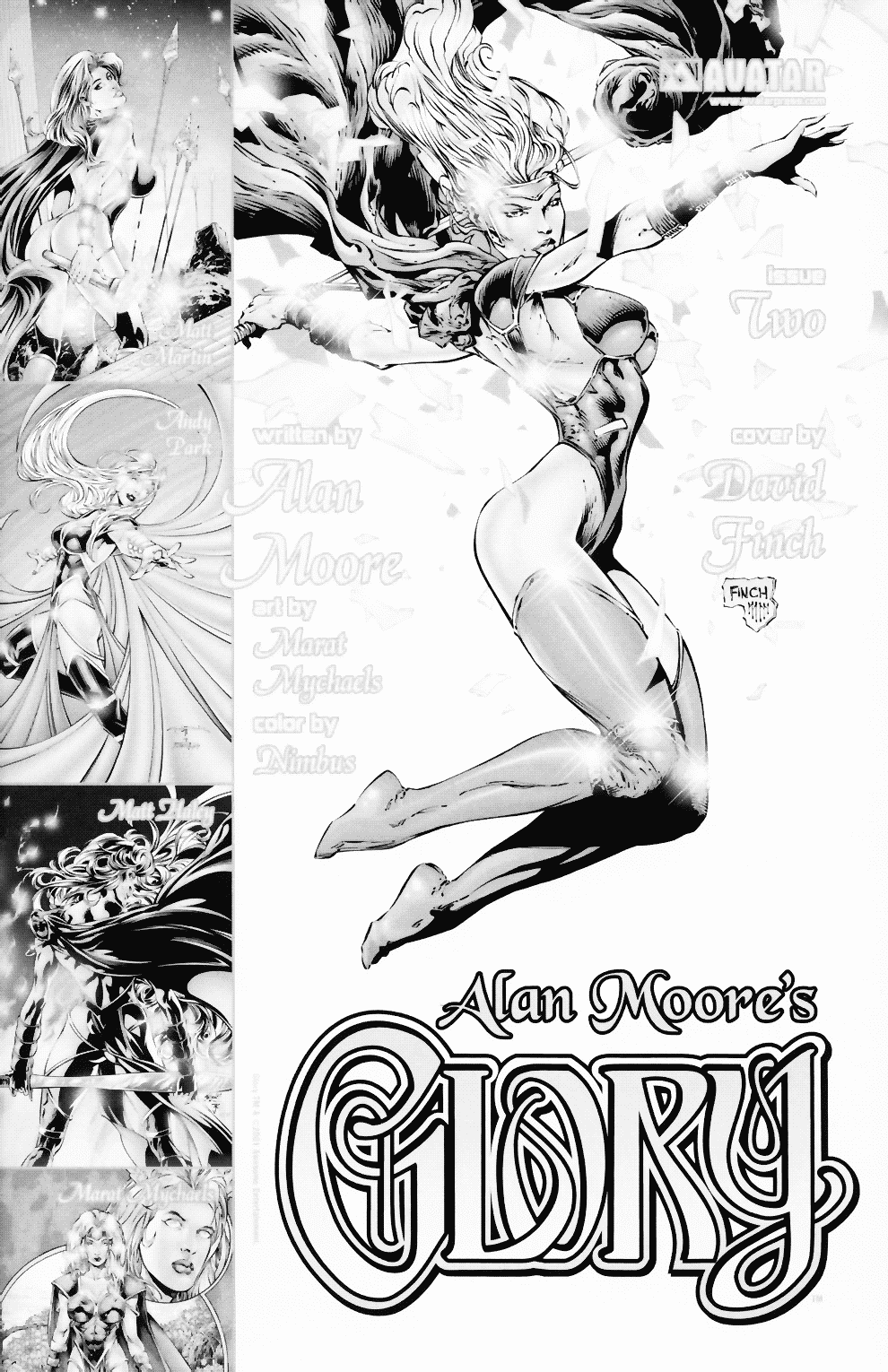 Read online Alan Moore's Glory comic -  Issue #0 - 33