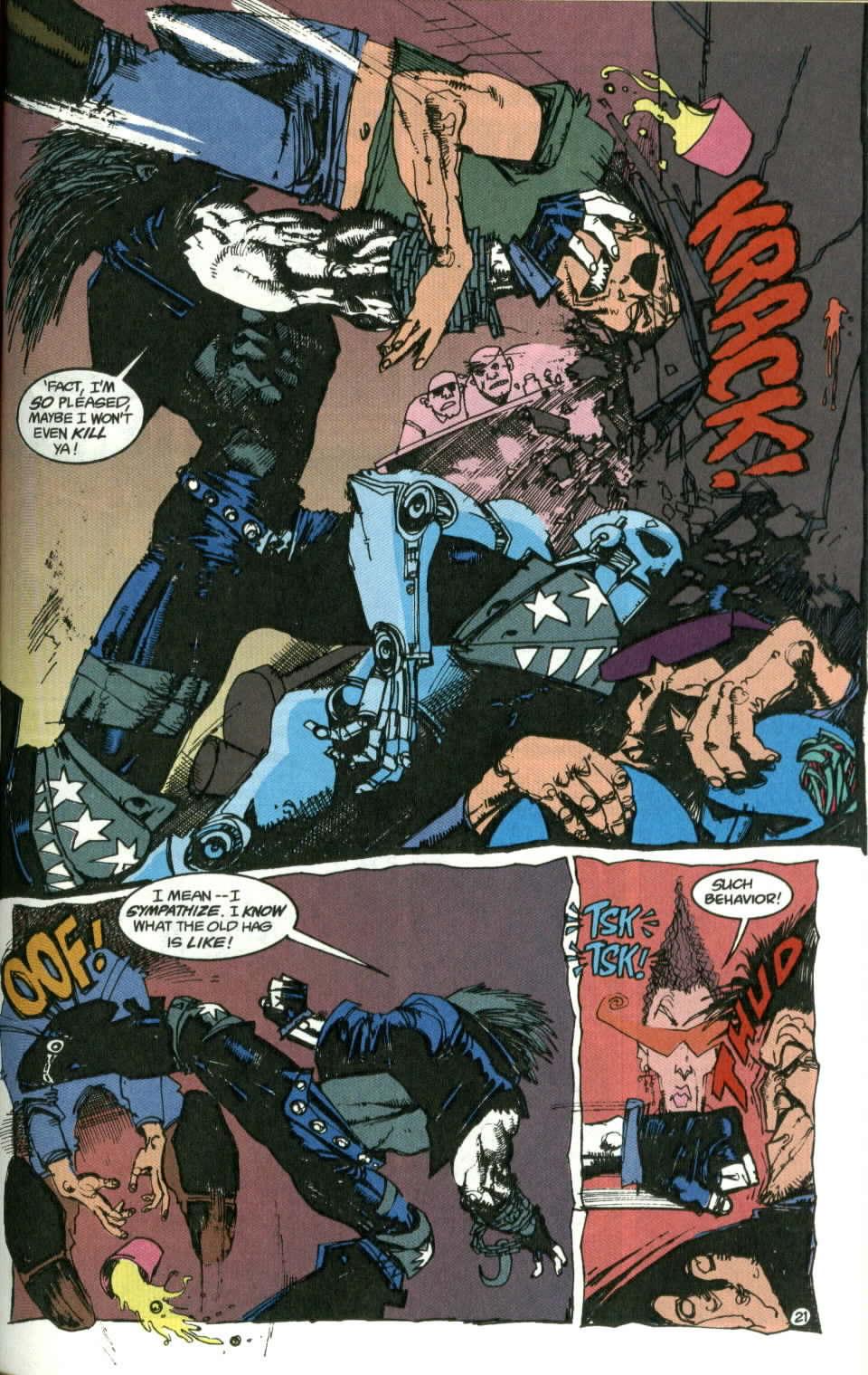 Read online Lobo (1990) comic -  Issue #1 - 22