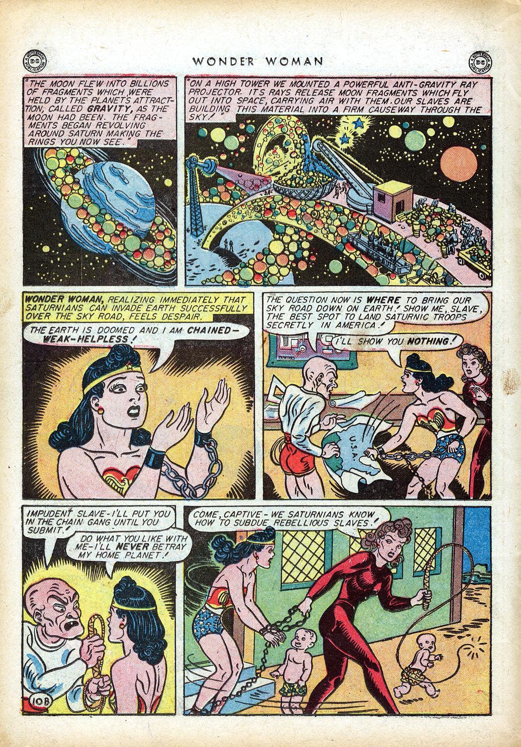 Read online Wonder Woman (1942) comic -  Issue #10 - 31